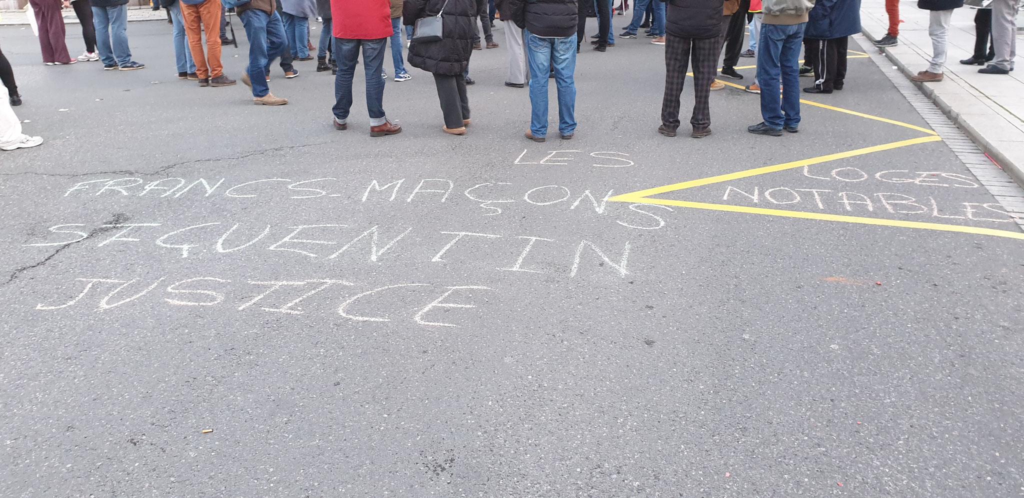 Manifestation du 06 Février 2020 à Saint-Quentin (02) #StopCorruptionStop #StopViolences #StopMafia www.jenesuispasunchien.fr www.jesuisvictime.fr www.jesuispatrick.fr