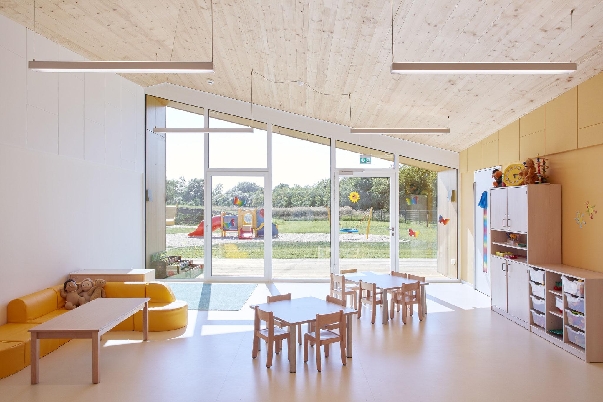 """Kindergarten in Weddingstedt, mit Büro """"Jebens Schoof Architekten"""""""