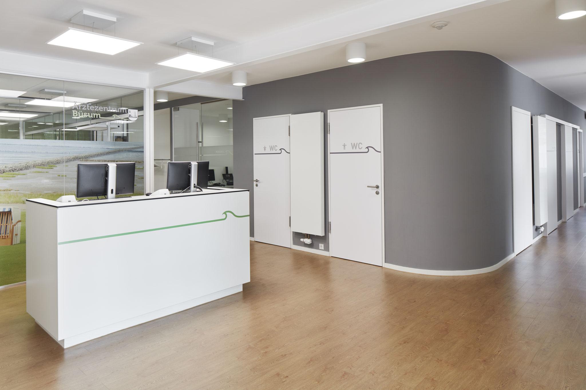 """Gesundheitszentrum Büsum, mit Büro """"Jebens Schoof Architekten"""""""