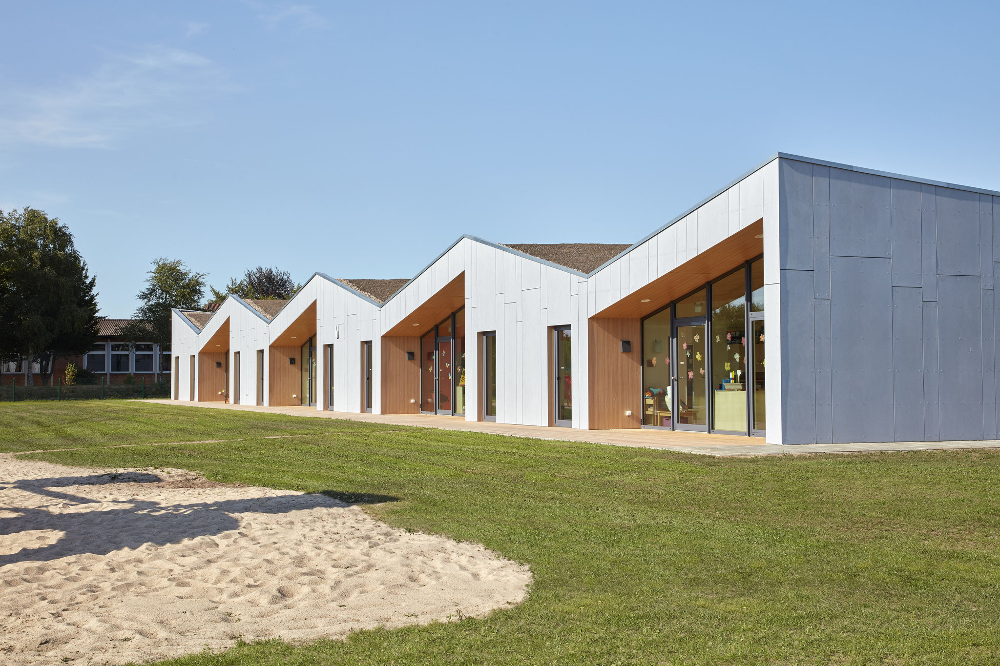 "Kindergarten in Weddingstedt, mit Büro ""Jebens Schoof Architekten"""