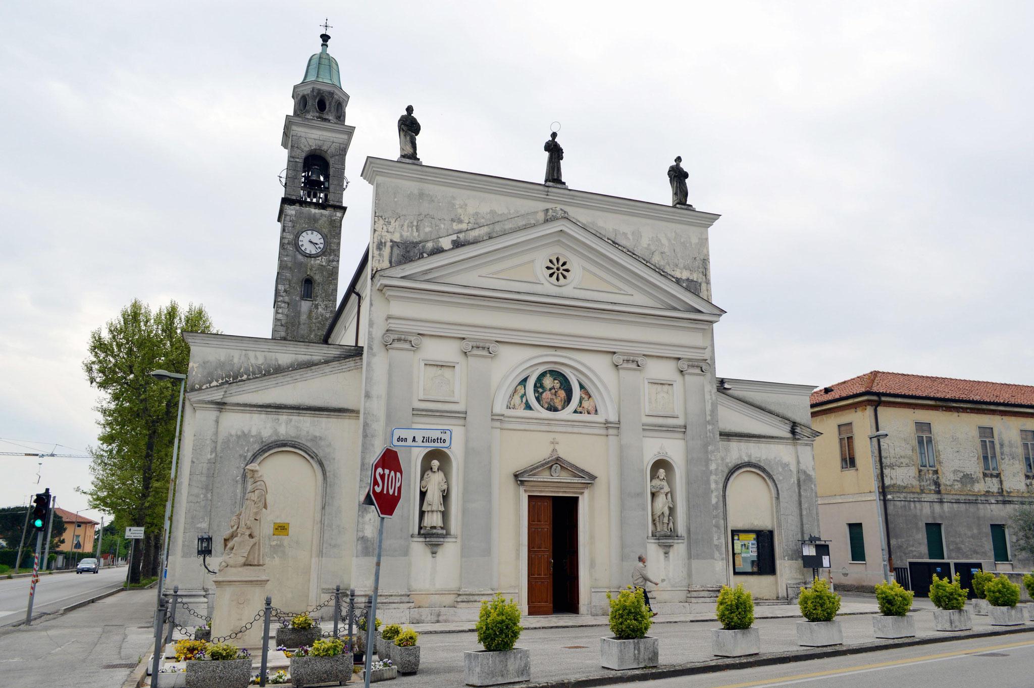 La chiesa di Santo di Thiene