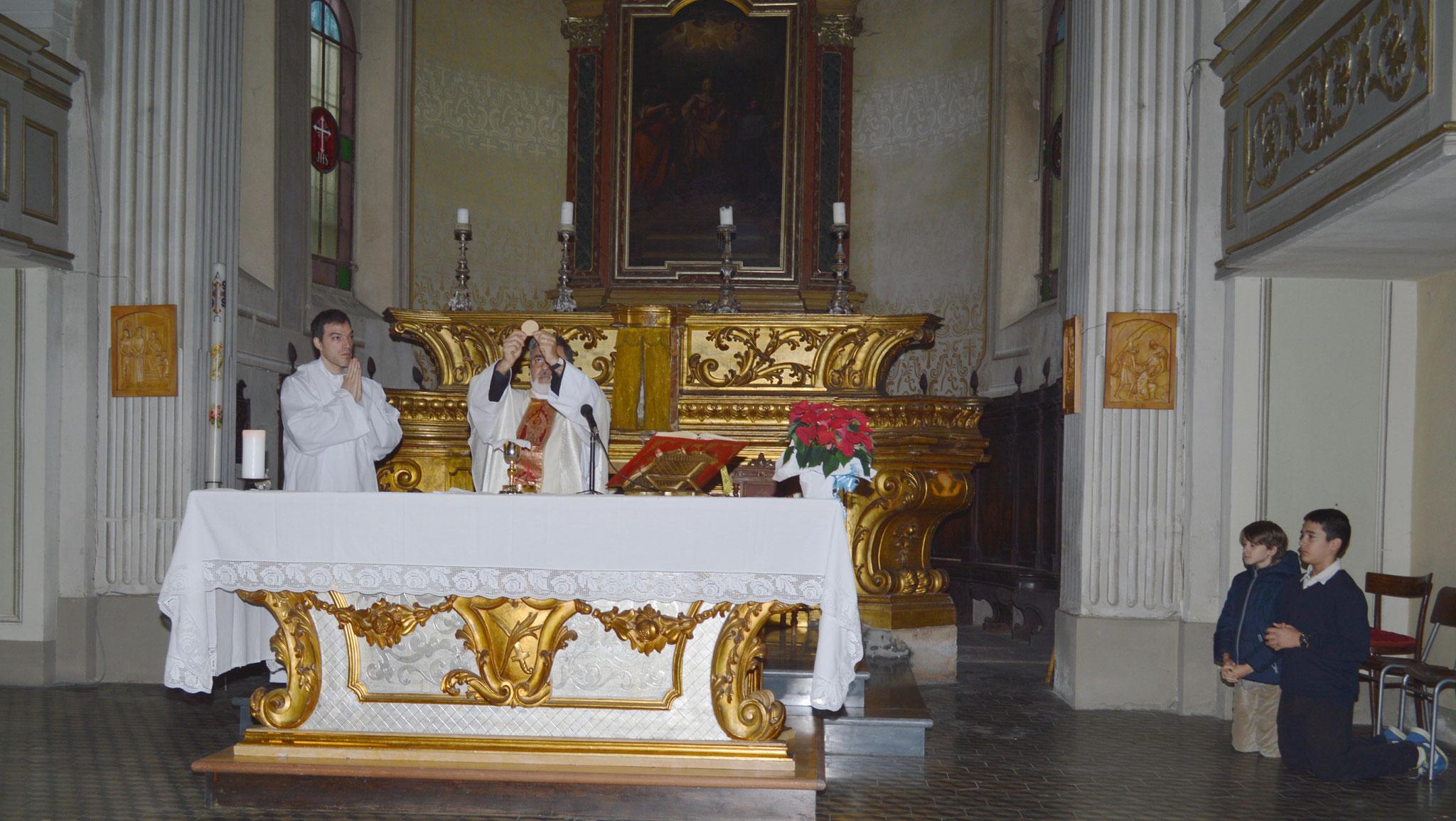 Durante la s. Messa