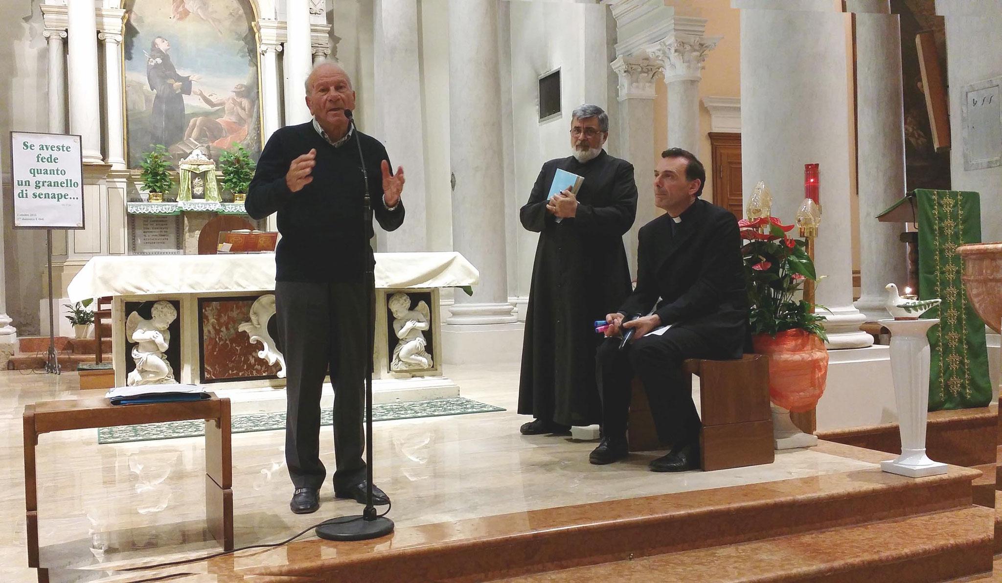 Vladimiro, don Giorgio e don Massimo