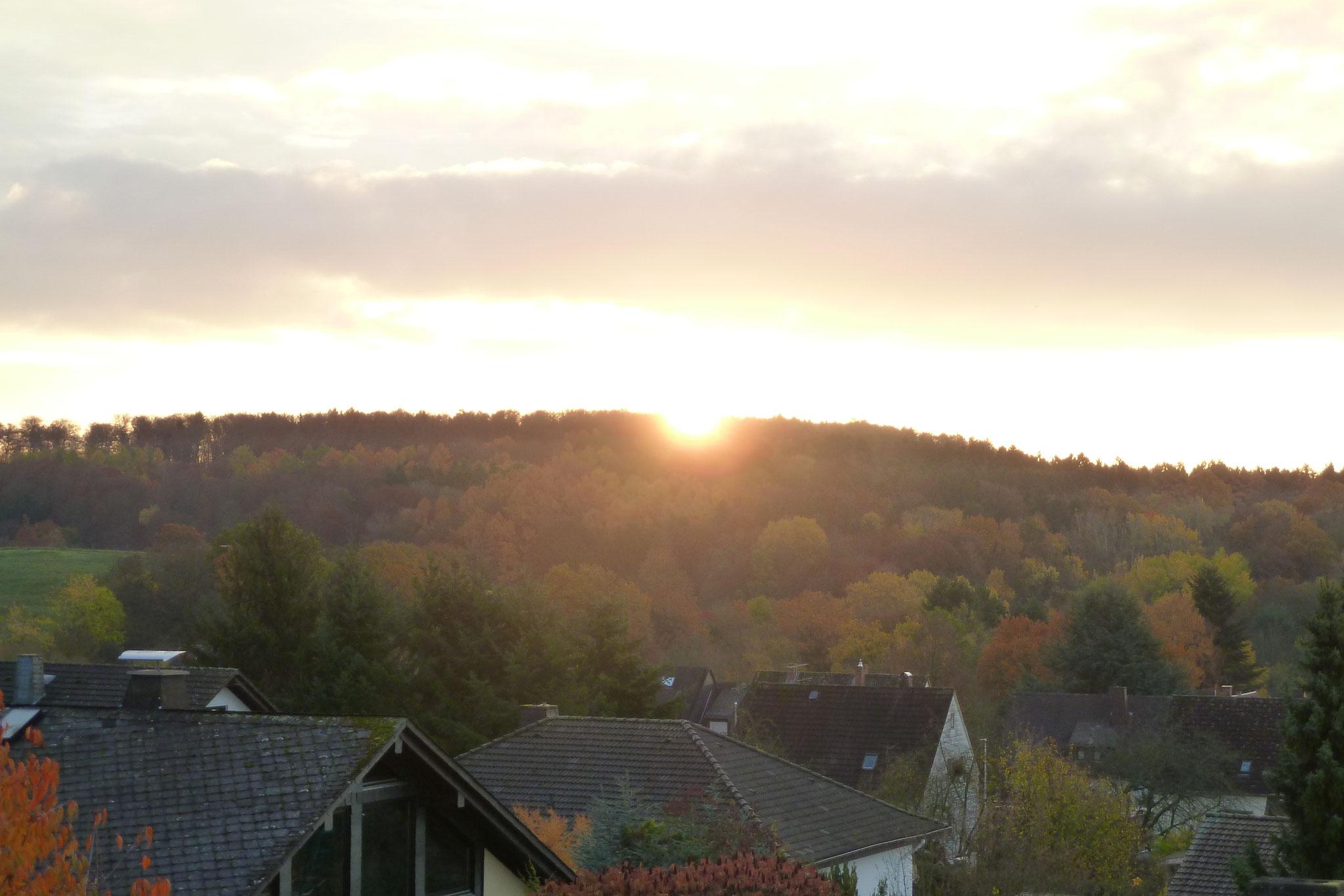 Sonnenuntergang über Gräveneck
