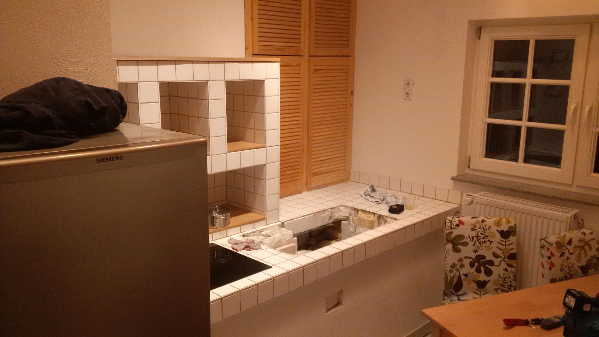 Abbruch einer Küche