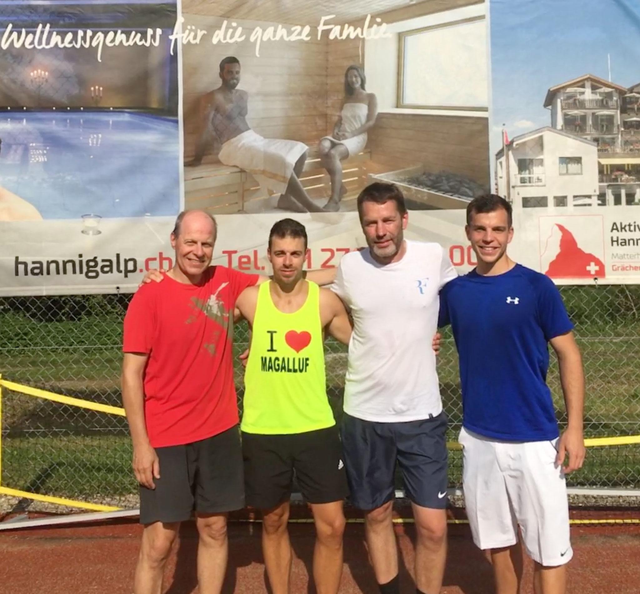2019 Herren Doppel Sieger: M. Schläfli & M. Schläfli / Finalist: S. Studer & F. Studer