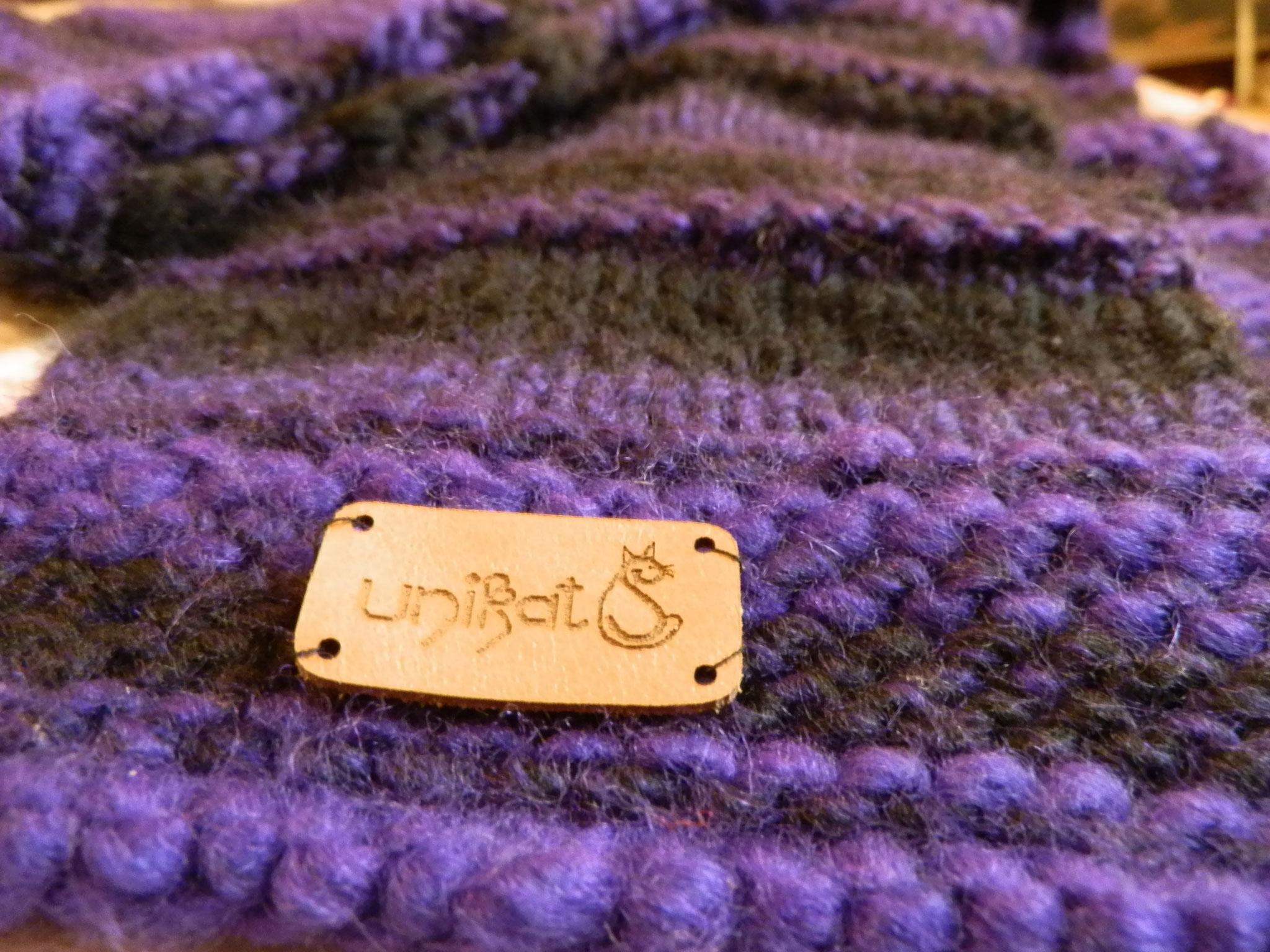Strickschal aus Lana Grossa Wolle