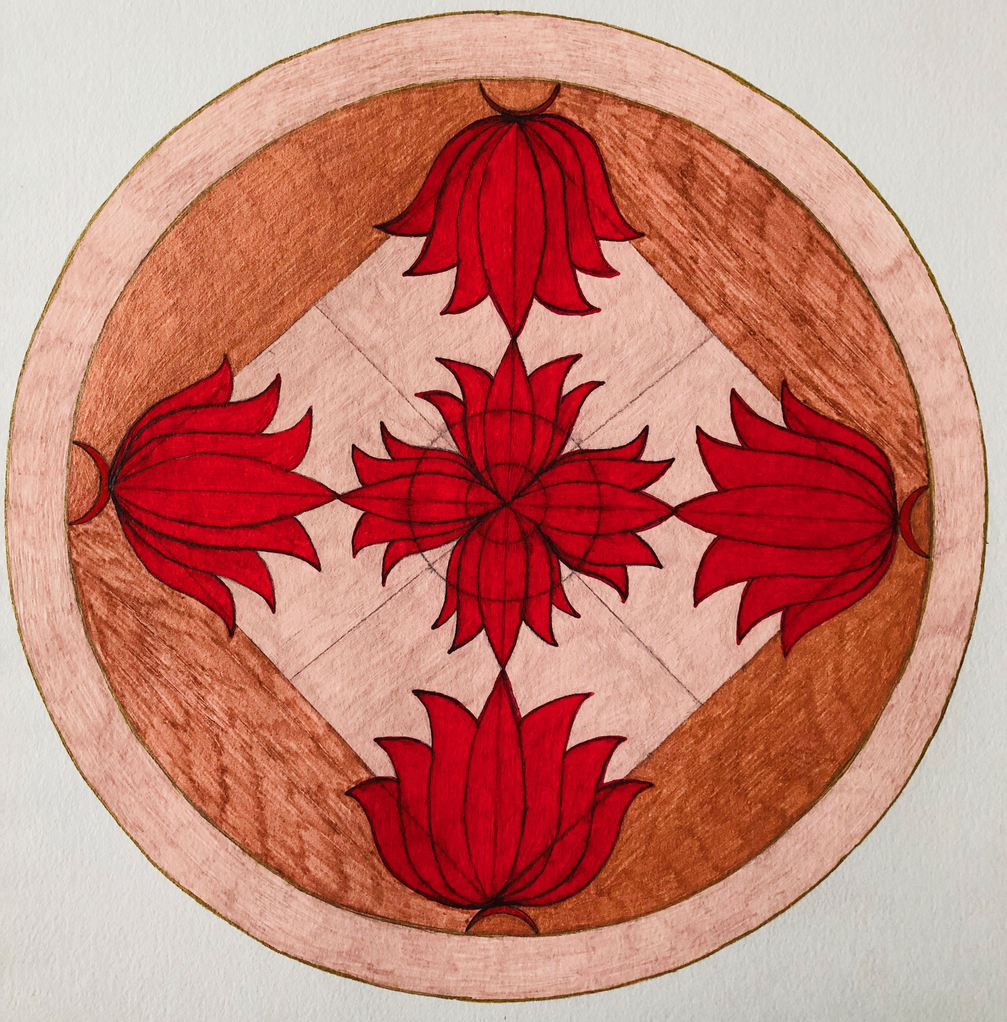 Blossoming Lotus - Inner and Outer Mandala