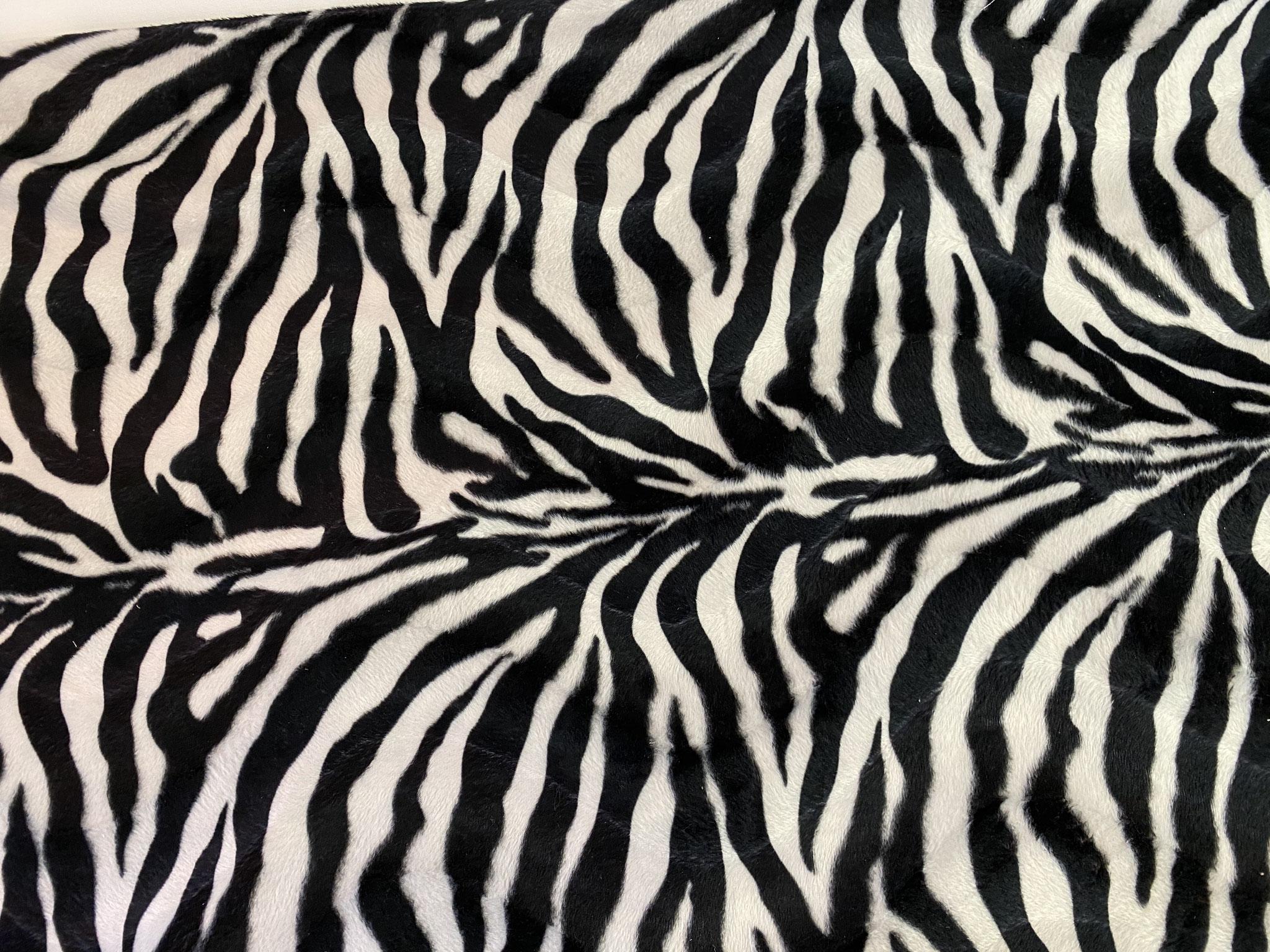 """""""Oh, ein Zebra"""" - Kunstfaser"""