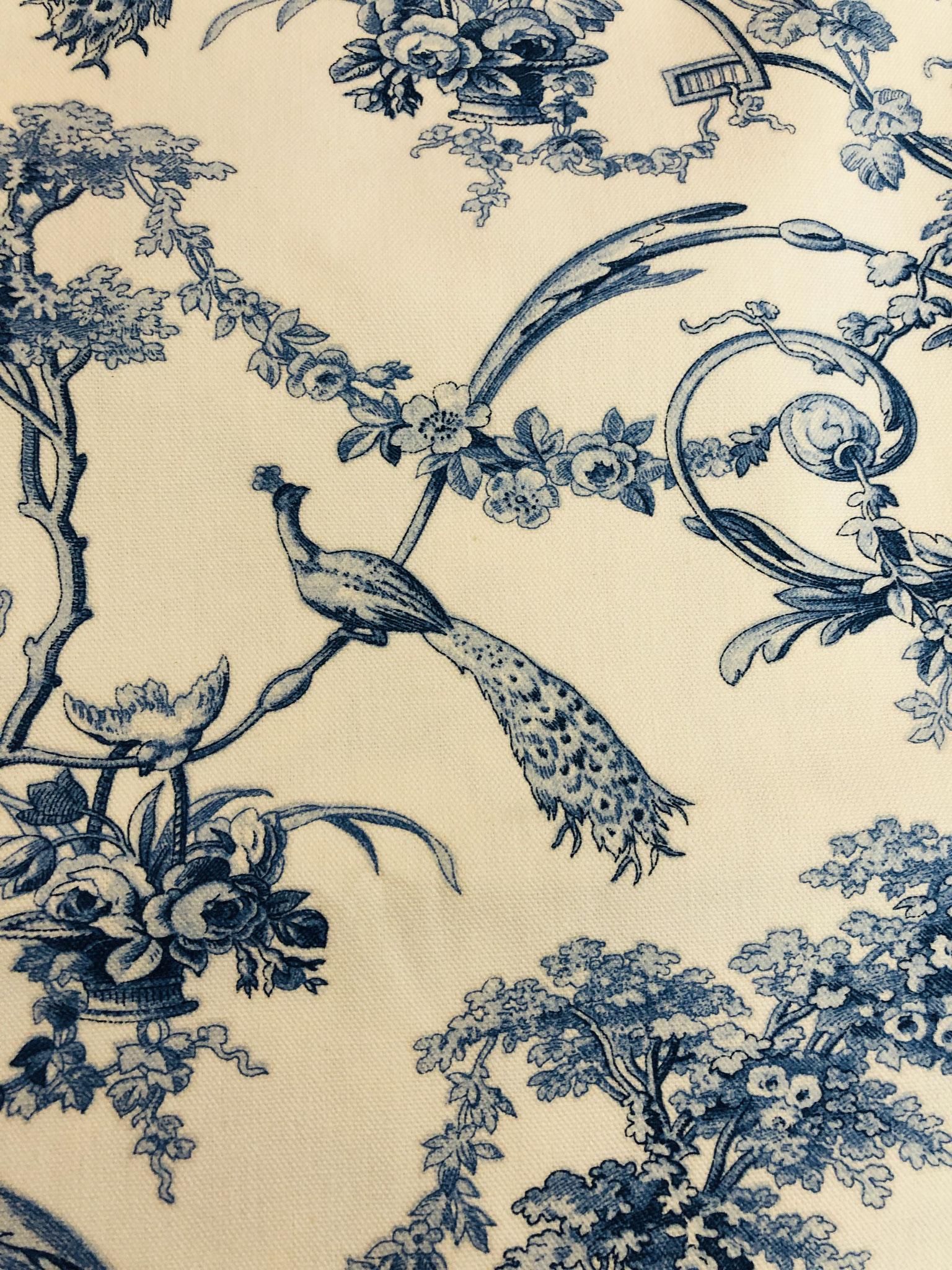 """""""Louisen-Schaukel"""" blau – Detail"""