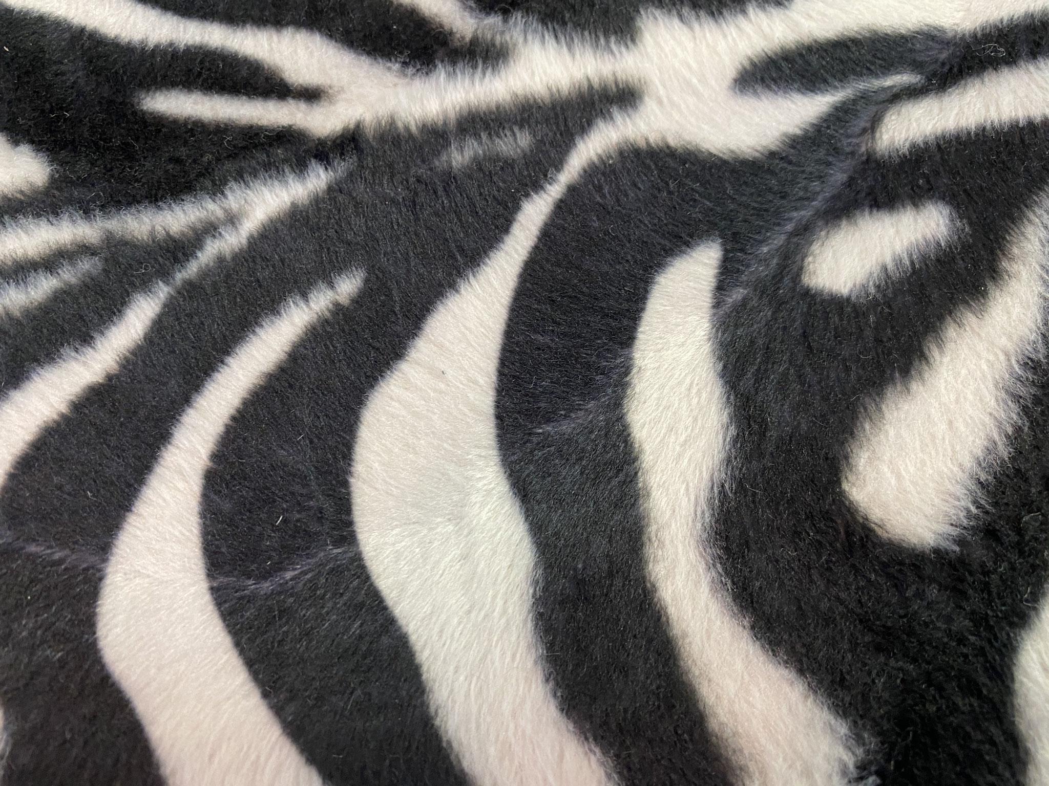"""""""Oh, ein Zebra"""" Kunstfaser Detail"""