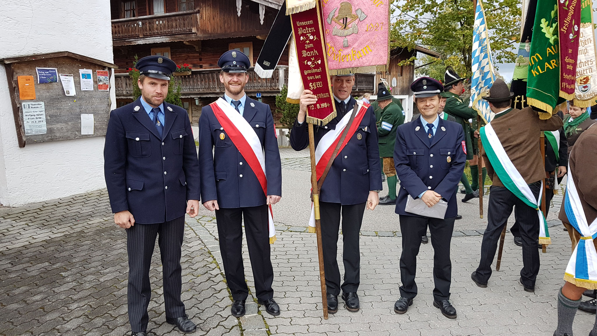 100-jähriges der Knappenkapelle Marienstein-Waakirchen am 3. Oktober 2019