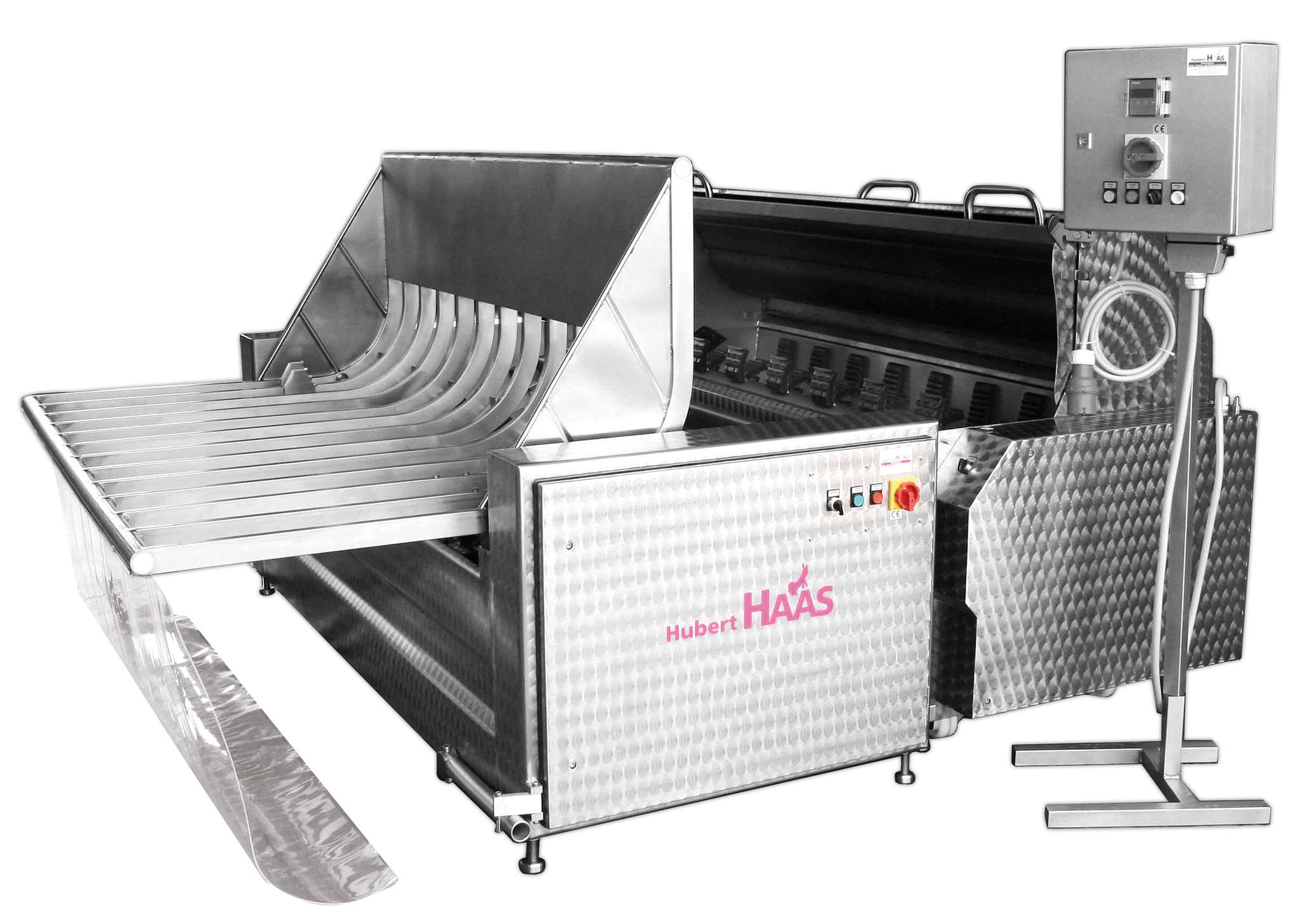 Hog Scalder Dehairer Presentation Machine