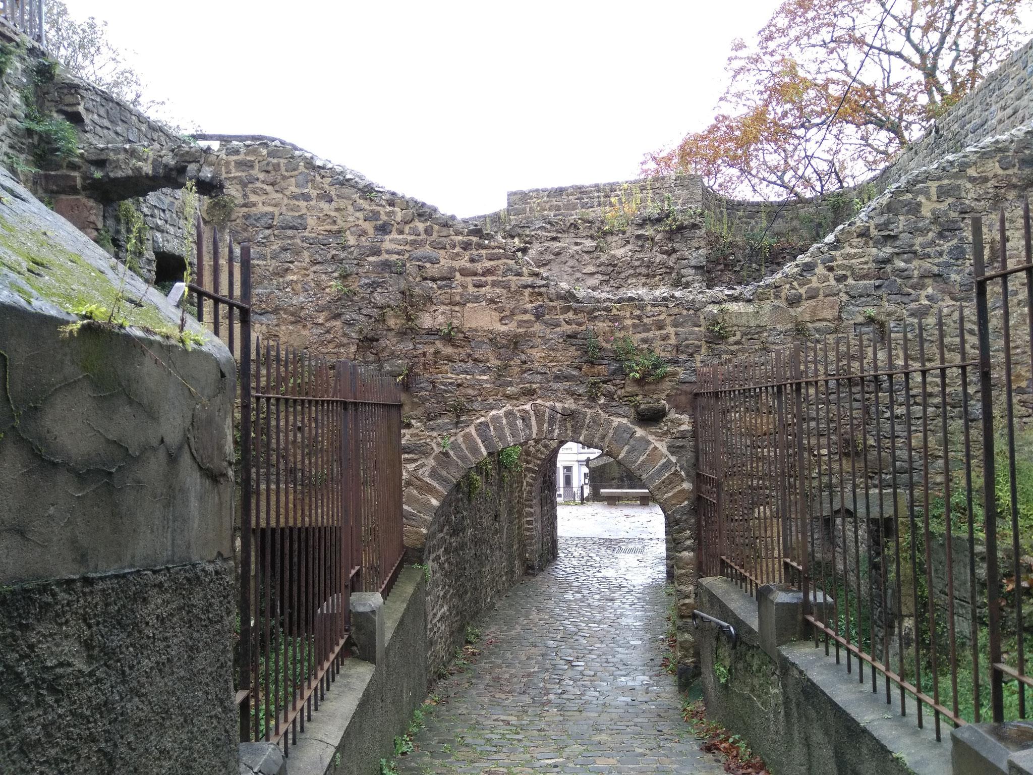 Porte Gayole (Sicht zur Stadt)