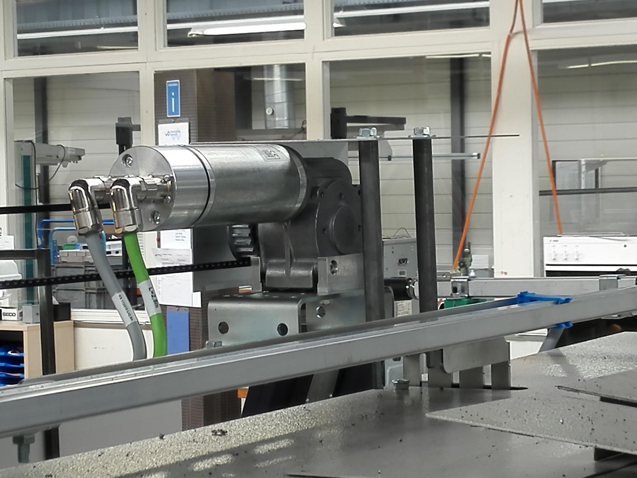 TSG Türantrieb für Automatische Schutztüröffnung