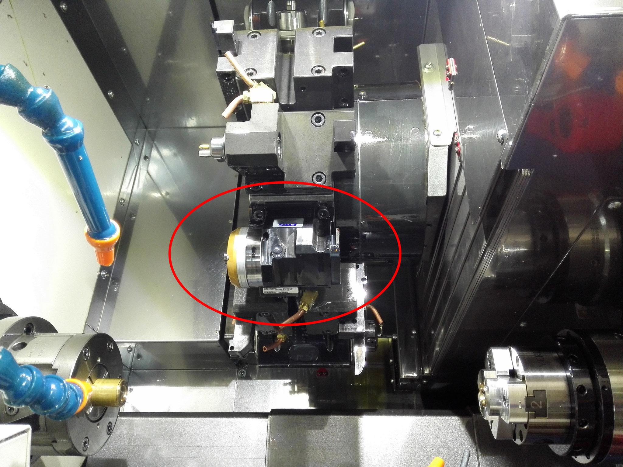 Anbau Hochdruckanlage und SpinJet an Miyano BND