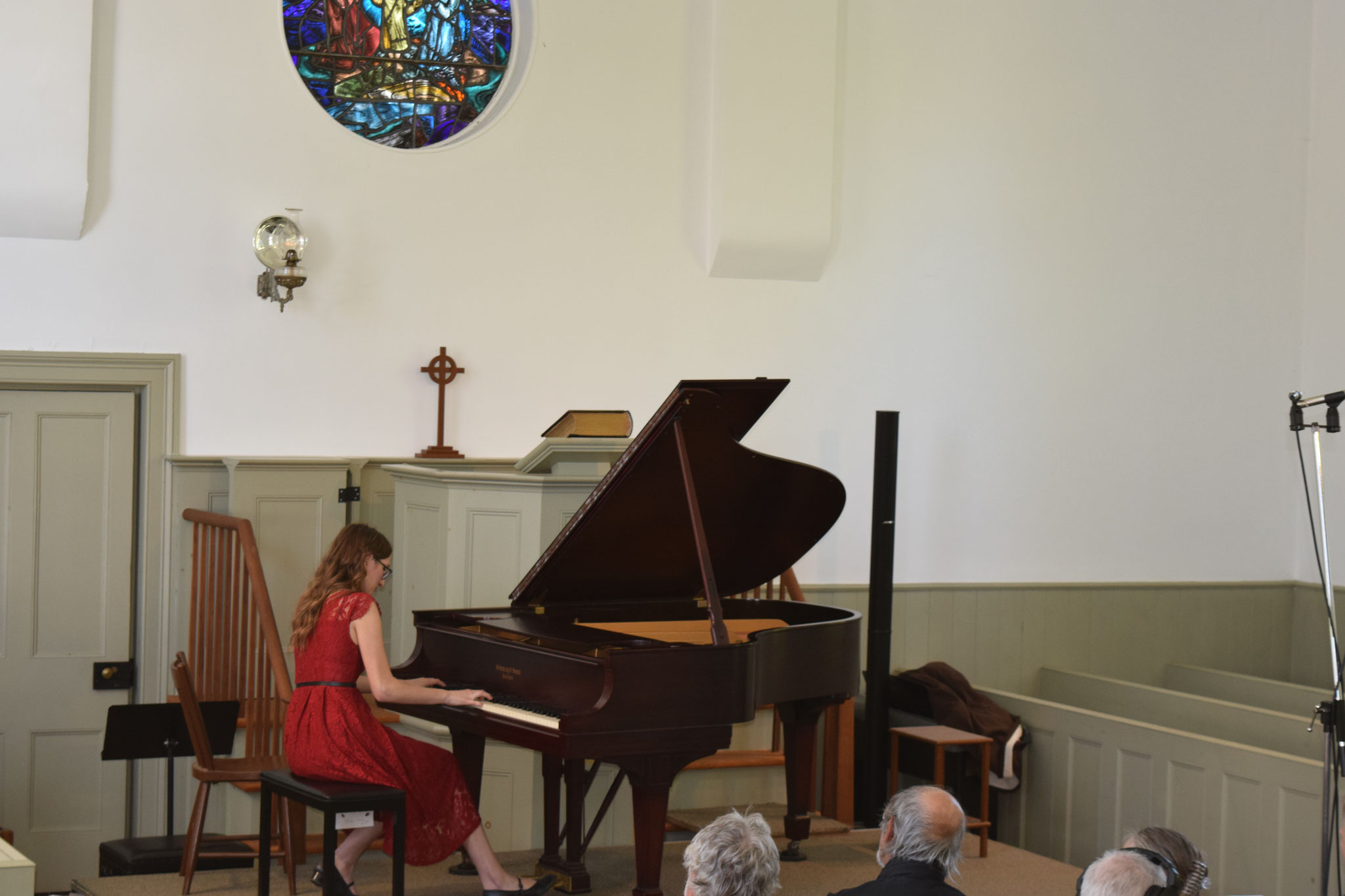 Anna Perrone performs a work by Chopin.