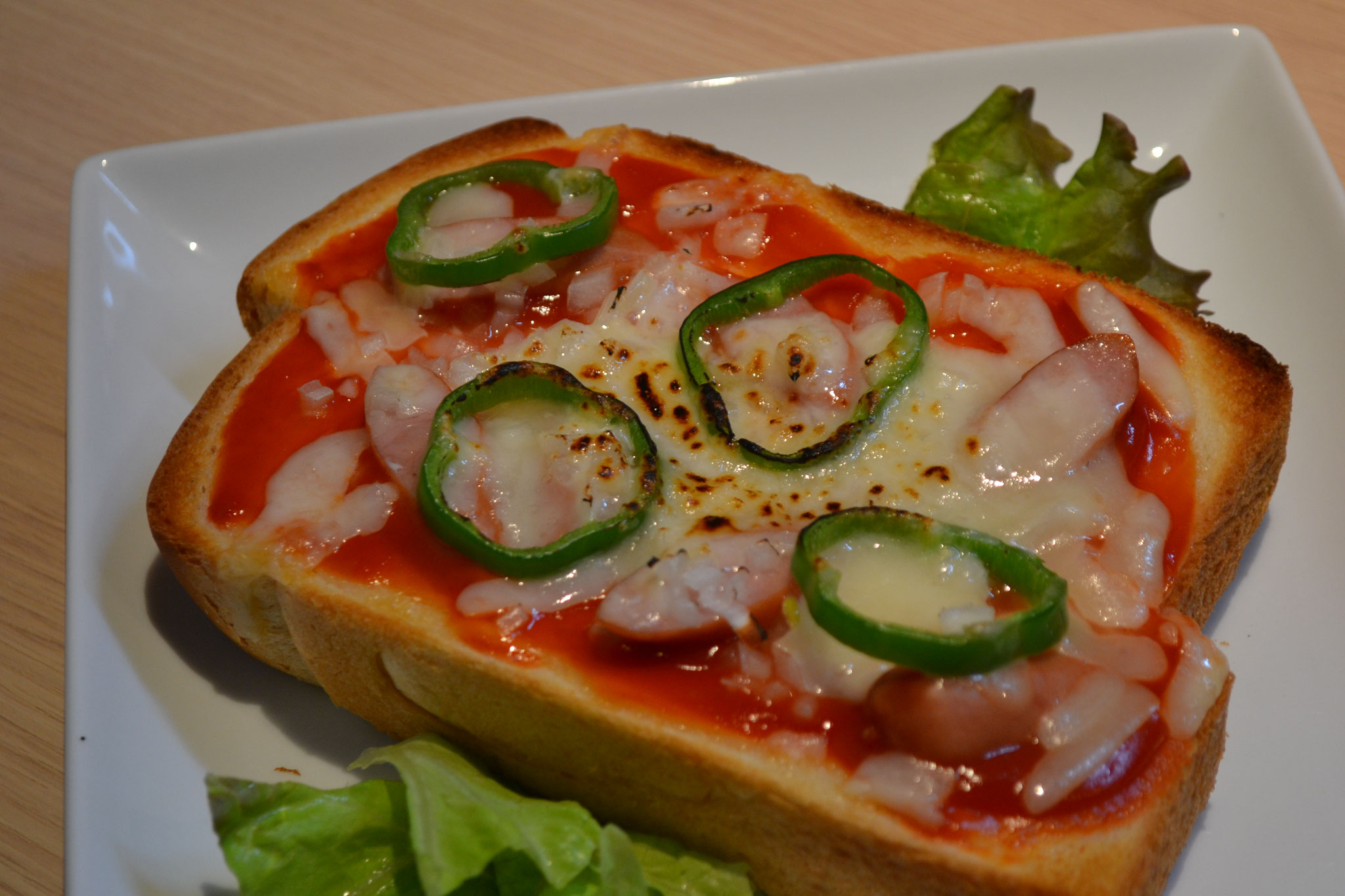 ピザトースト ¥600