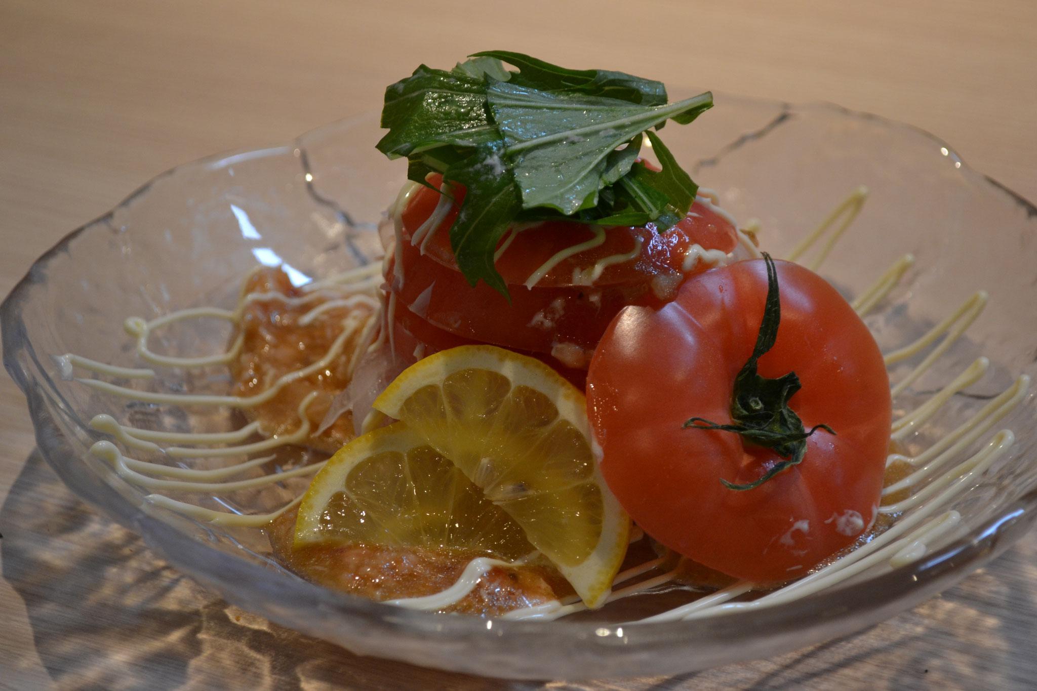 まるごとトマトスライス ¥480