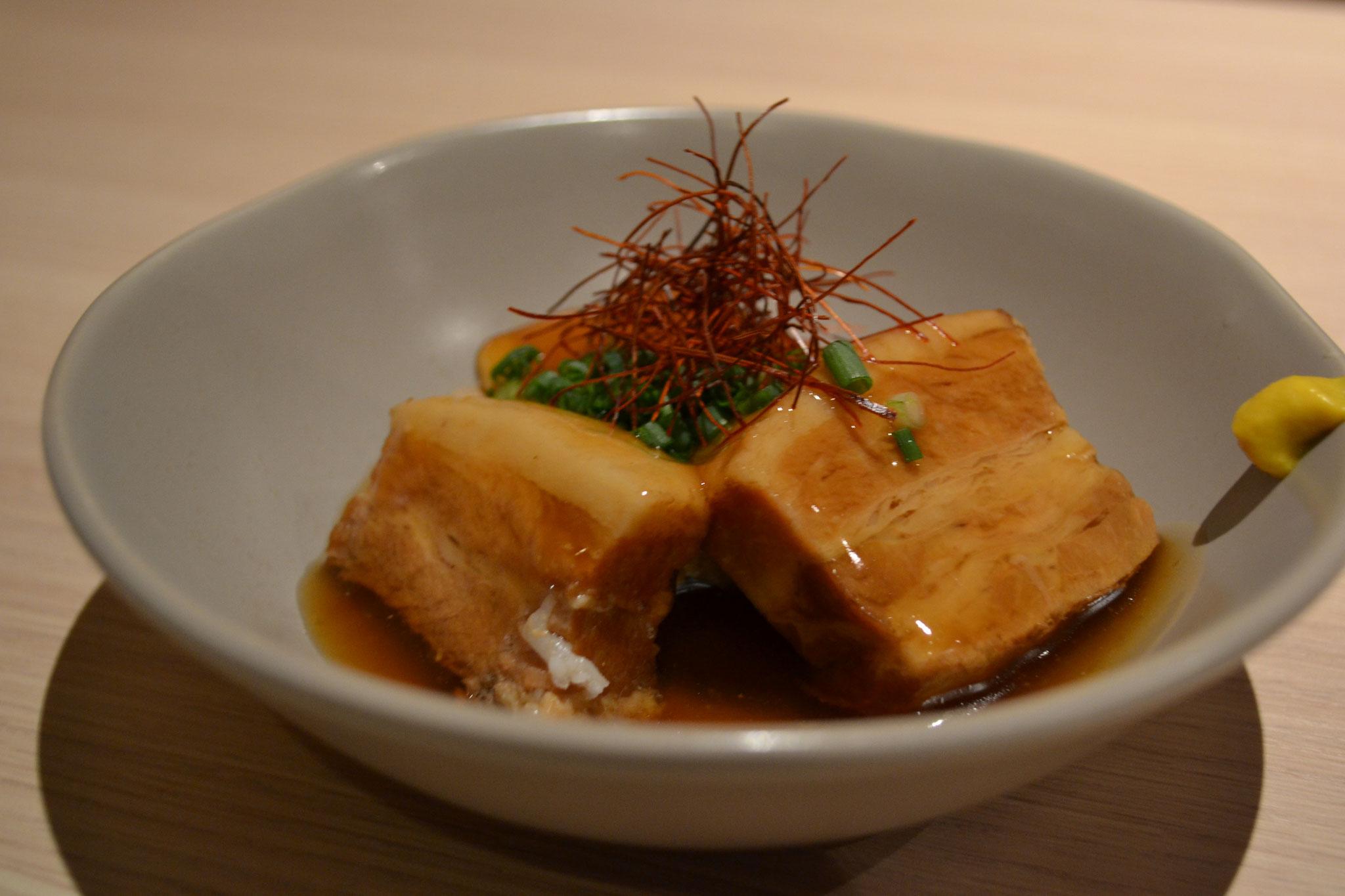 豚の角煮 ¥600