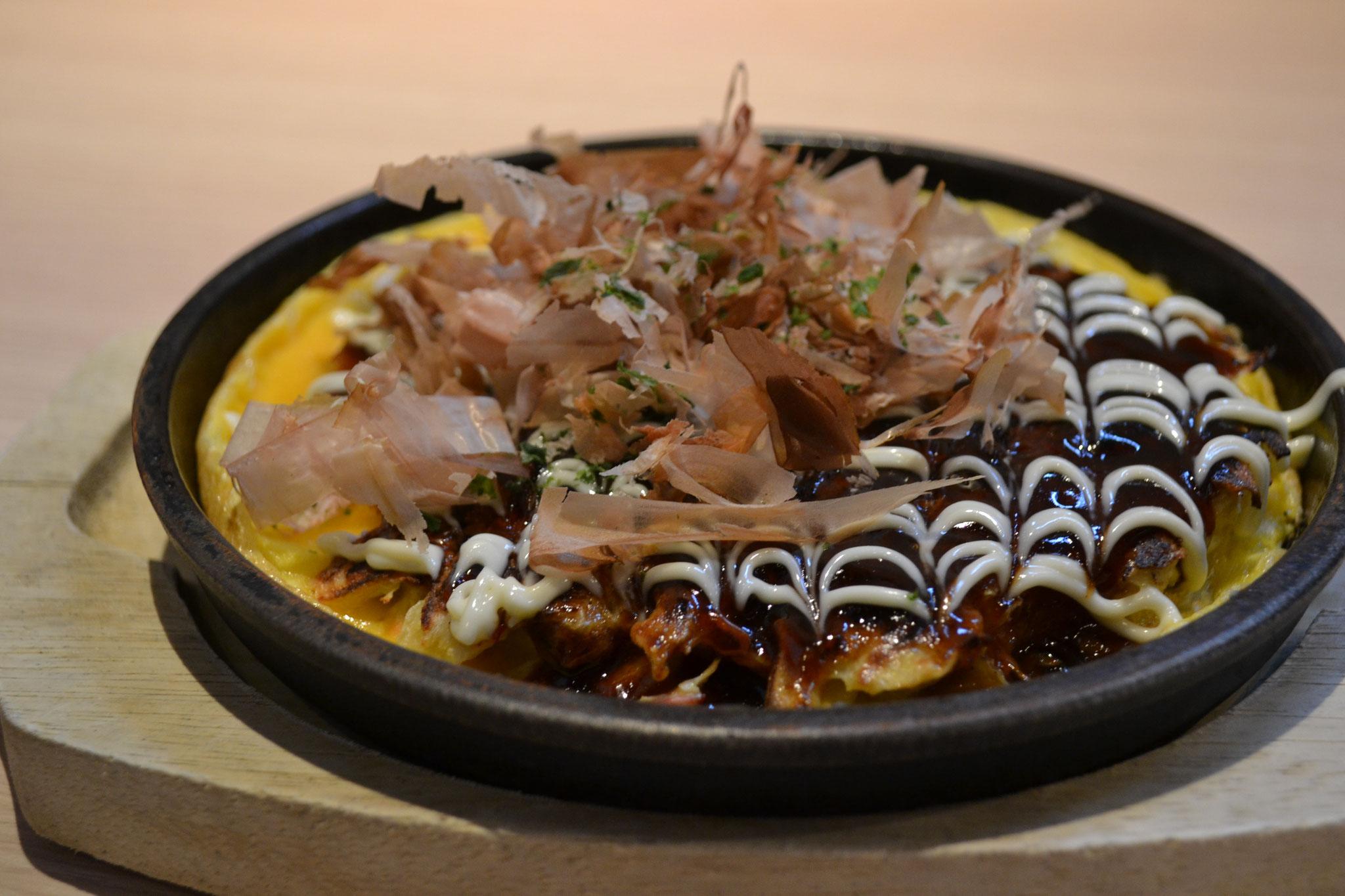 お好み焼きランチ(ミックス) ¥850