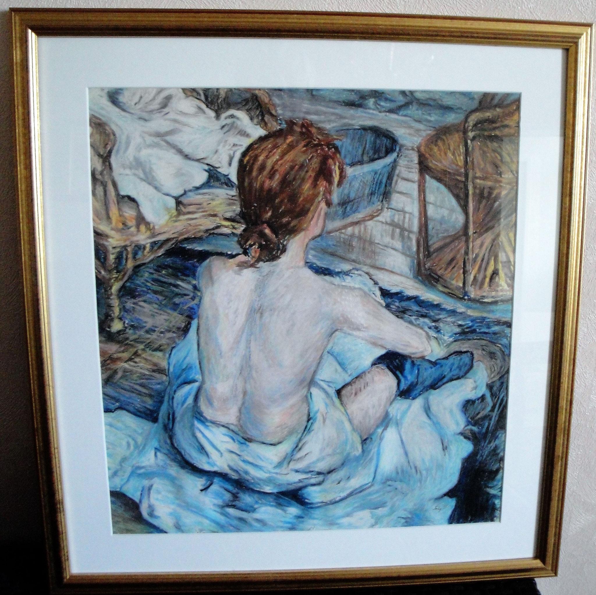 d'après Toulouse Lautrec