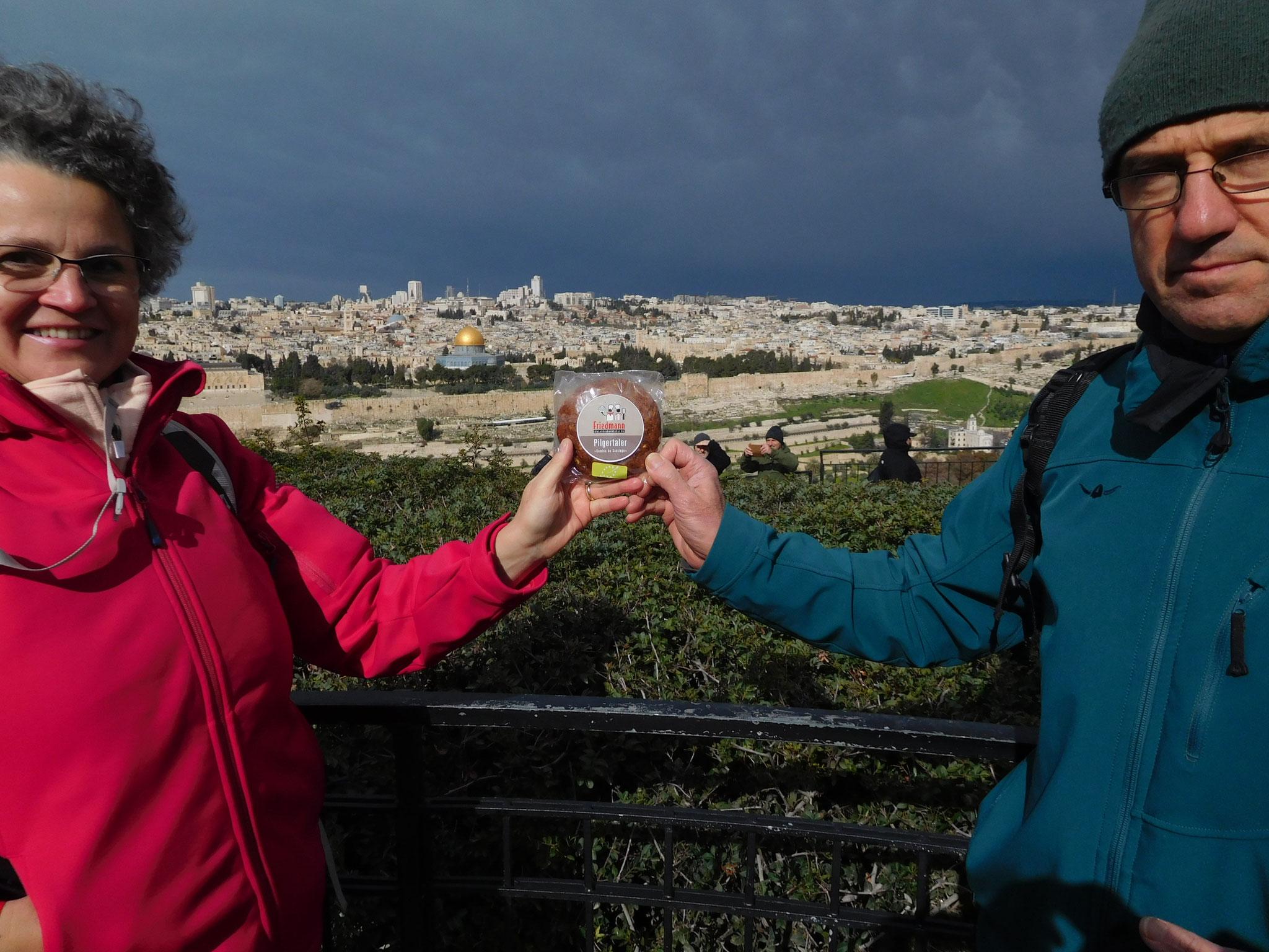 Vorderasien Israel am Ölberg Jerusalem 2020