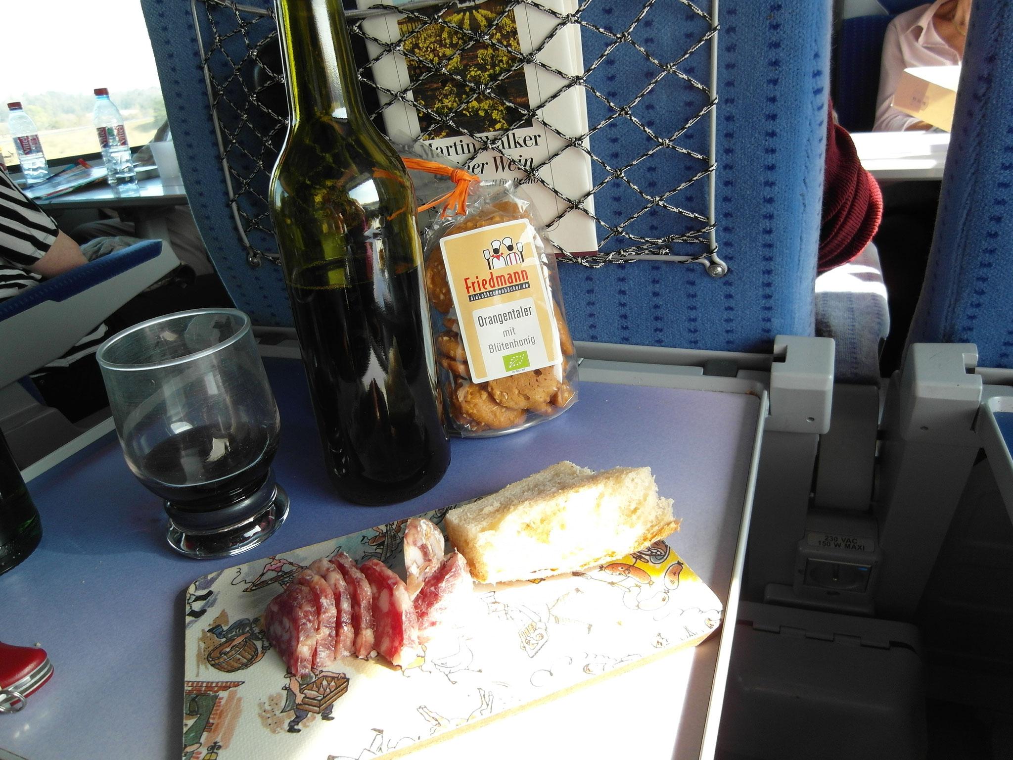 Picknick im TGV 2014
