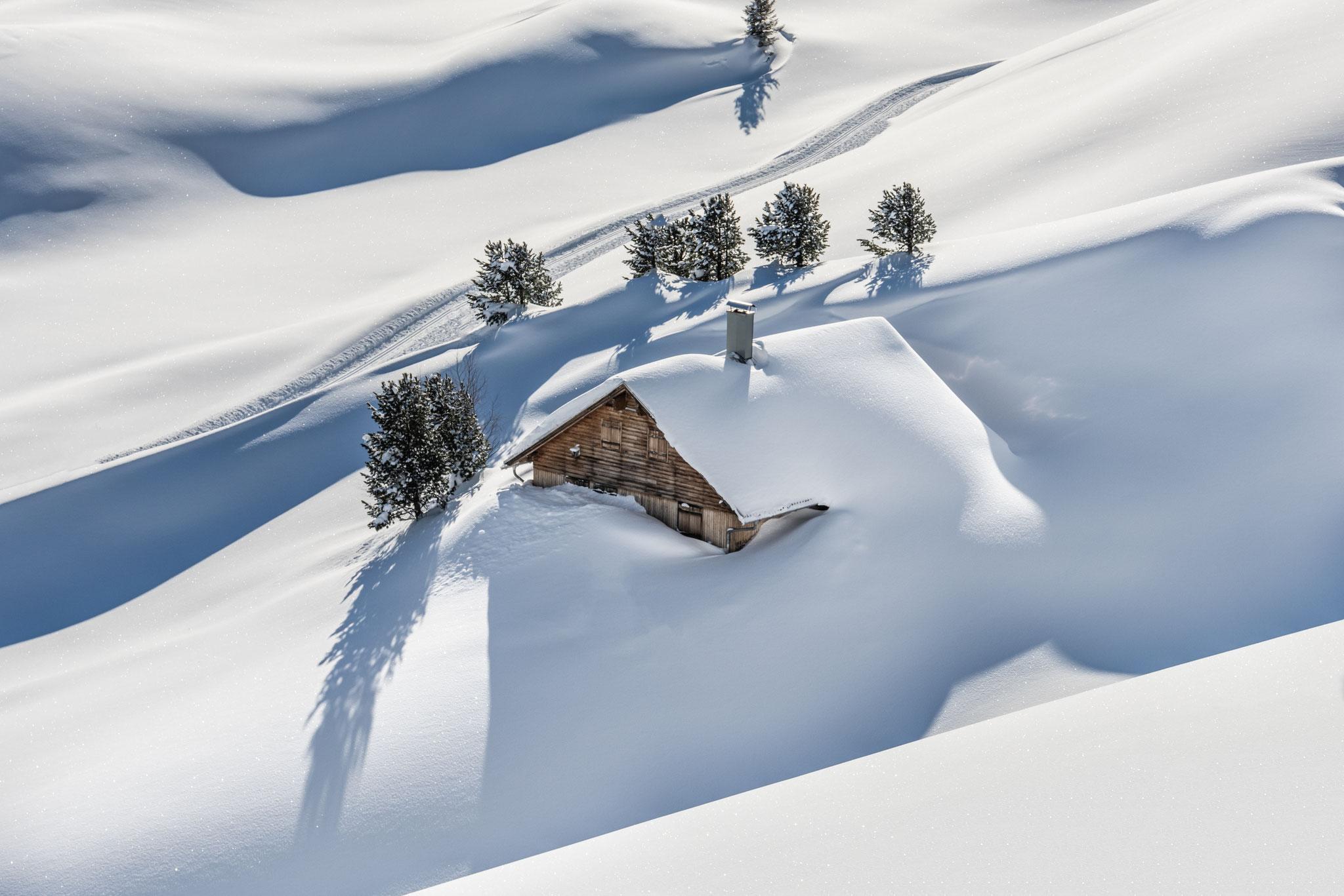 Chalet am Berg, ein Wintermärchen