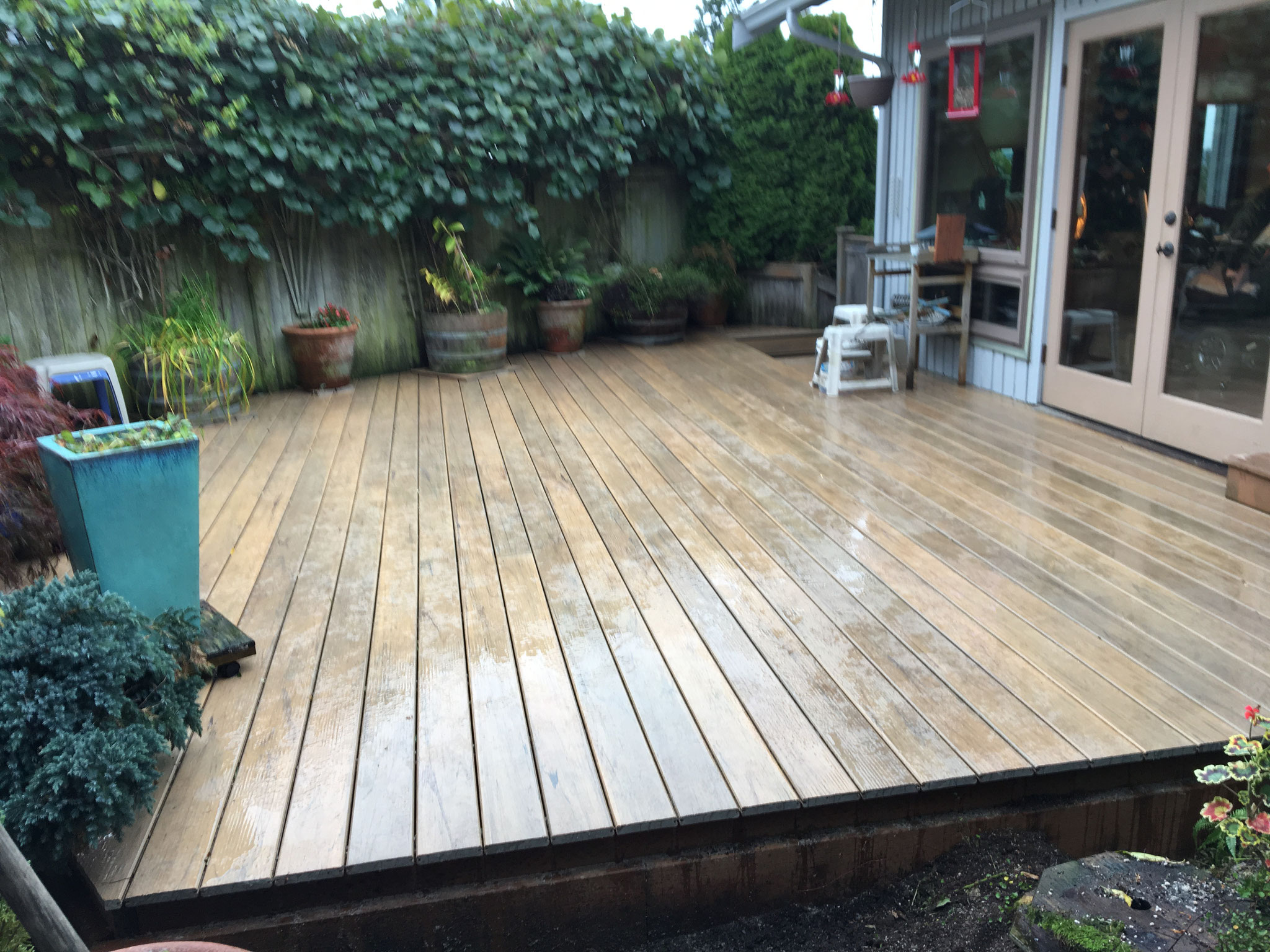 New Deck Floor -turned out beautiful !