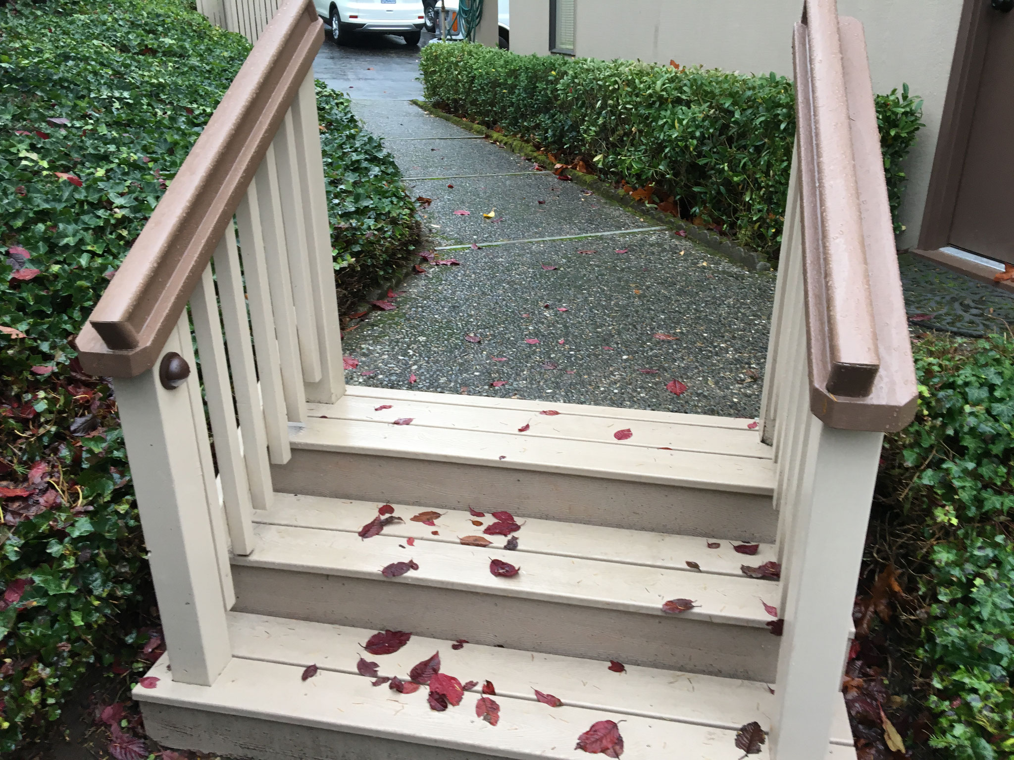 Steps were made new again...