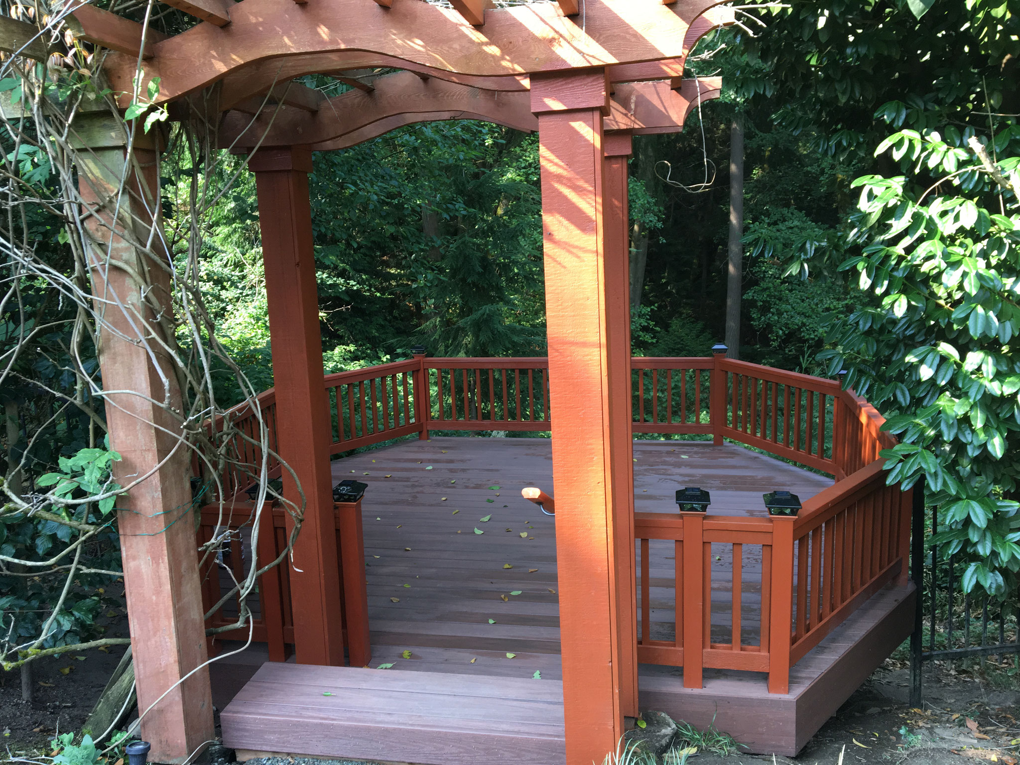 New deck turned out great !