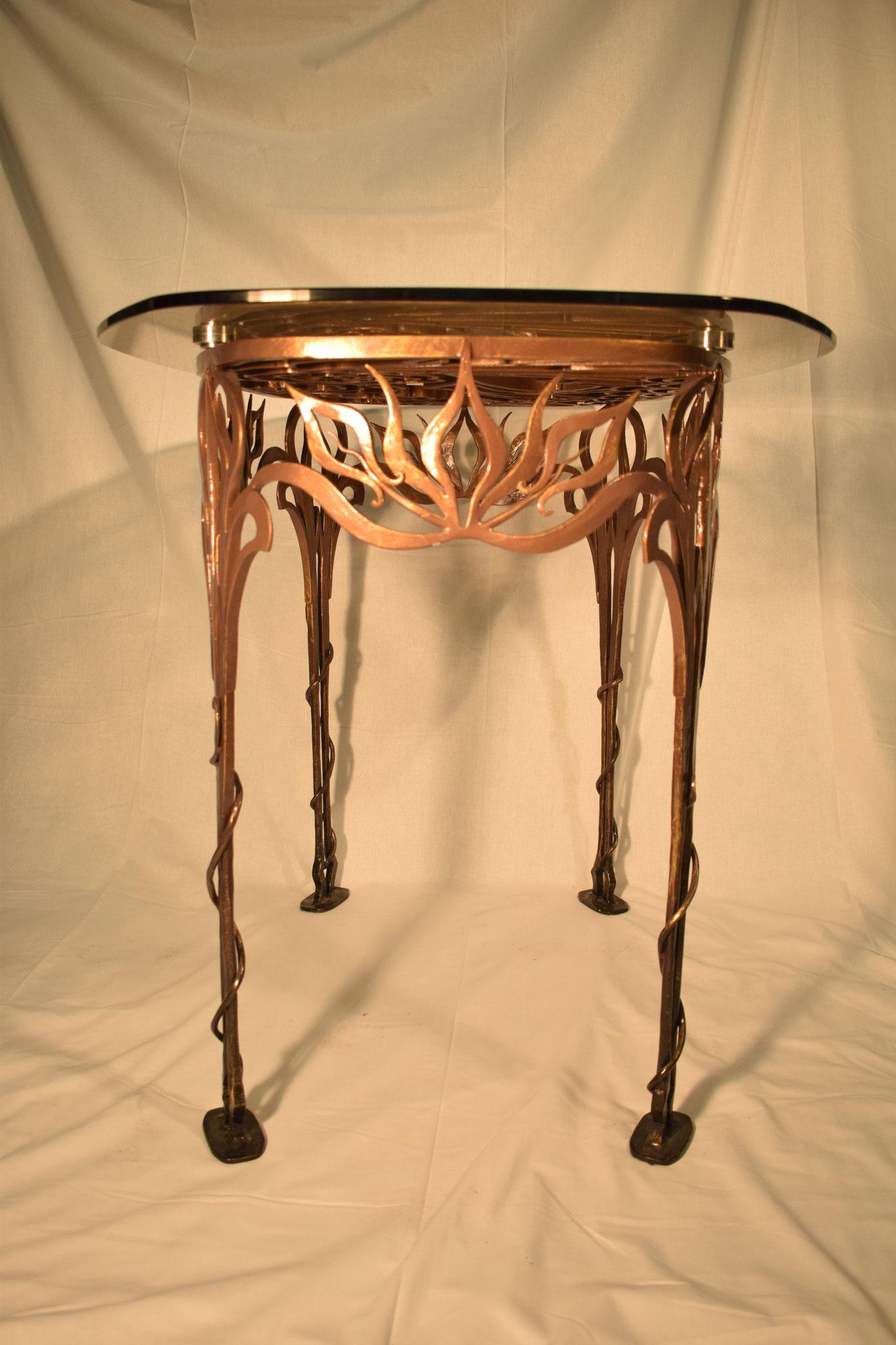 Опоры стола. Ручная ковка.