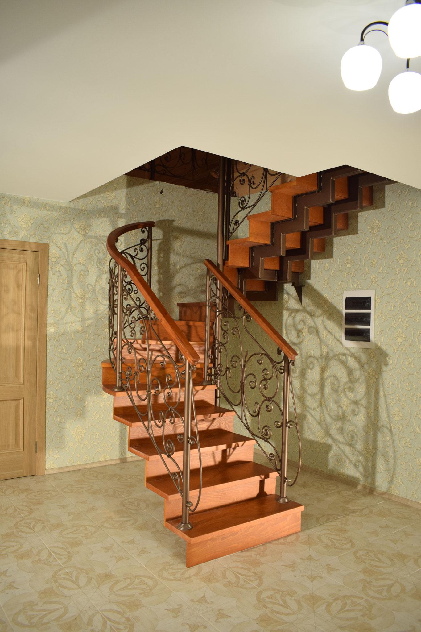 Лестница. Художественная ковка.