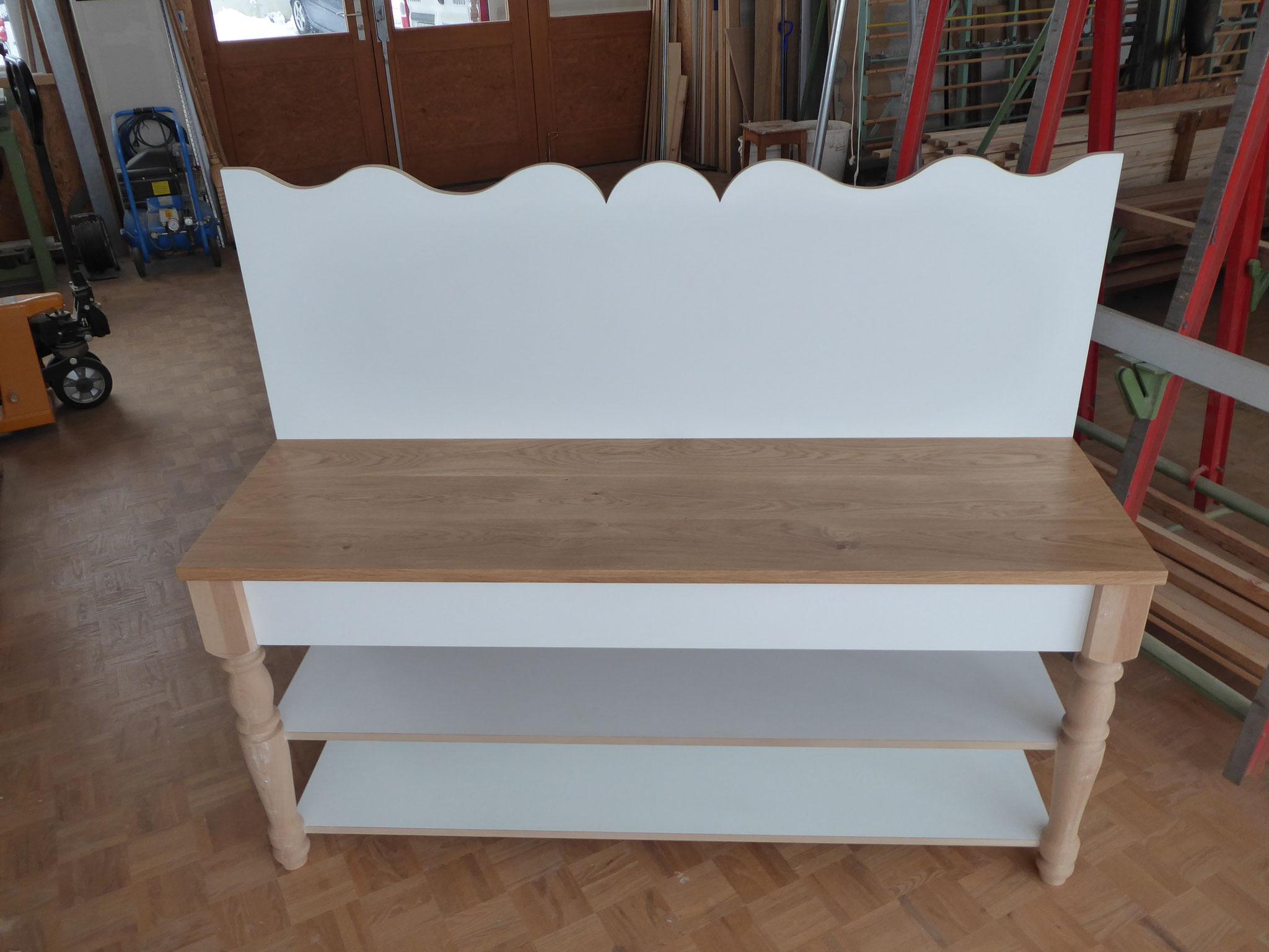 Badmöbel in Werkstatt