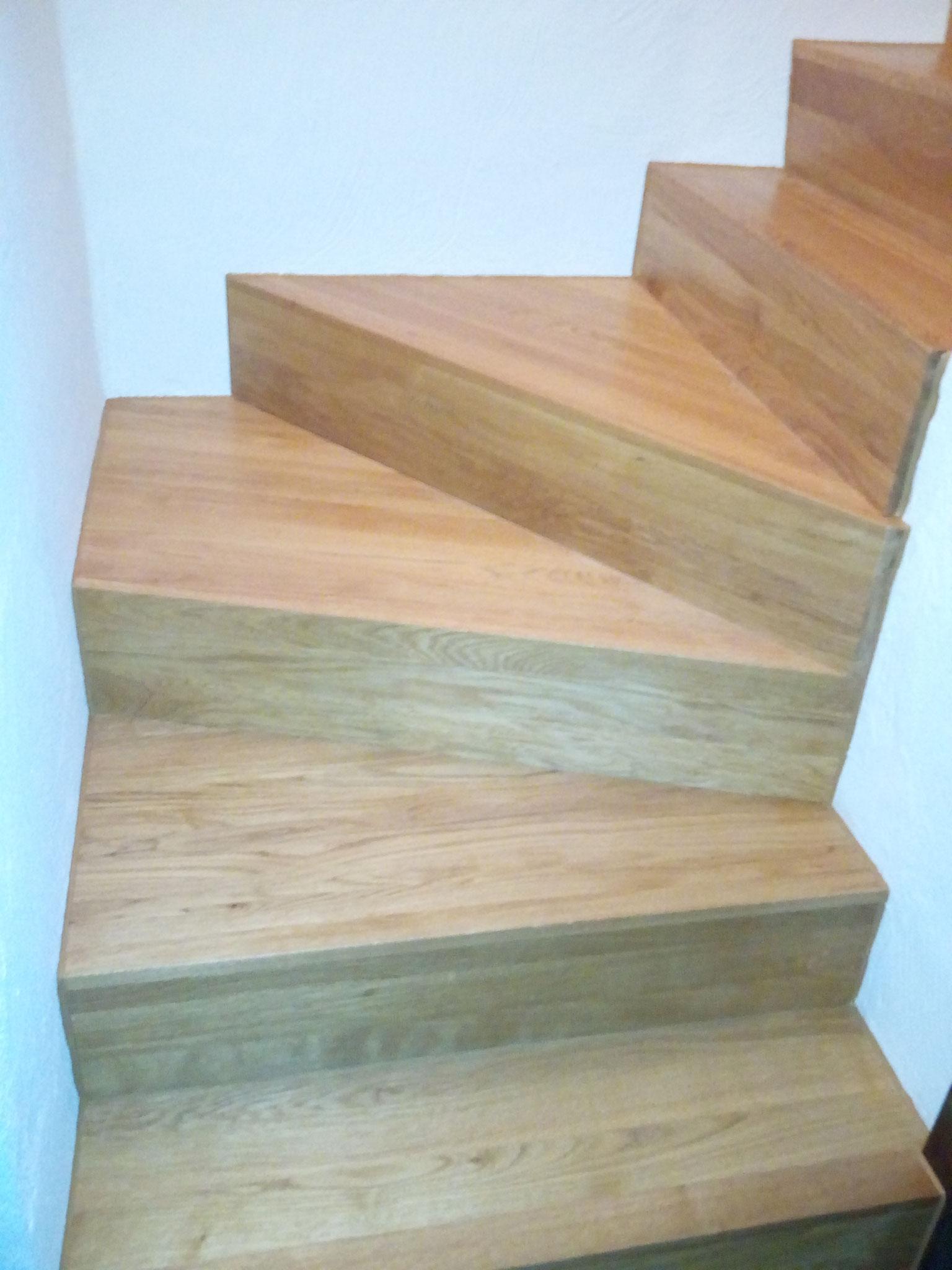 Gewundene Treppe in Triengen