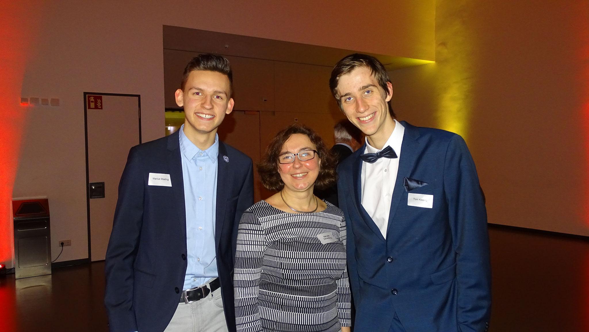 Eine gute bekannte aus unserer alltäglichen Arbeit: Manuela Dörnenburg, die Gleichstellungs- und Intergrationsbeauftragte.