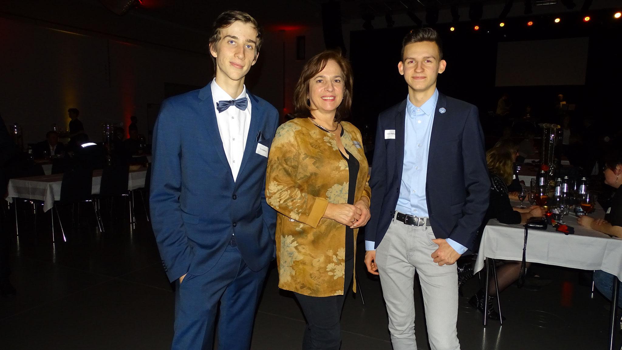Auch Barbara Richstein, Vizepräsidenten des Brandenburger Landtags, war mit am Start.