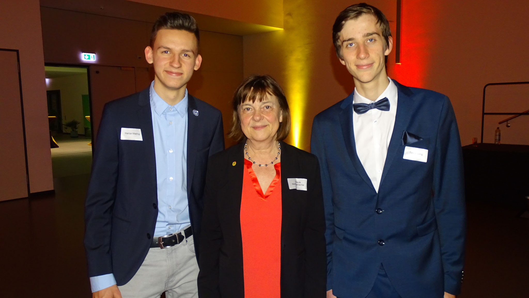 ... und trafen Prominenz aus Falkensee! Hier Ursula Nonnemacher (Ministerin für Soziales, Gesundheit, Integration und Verbraucherschutz des Landes Brandenburg).