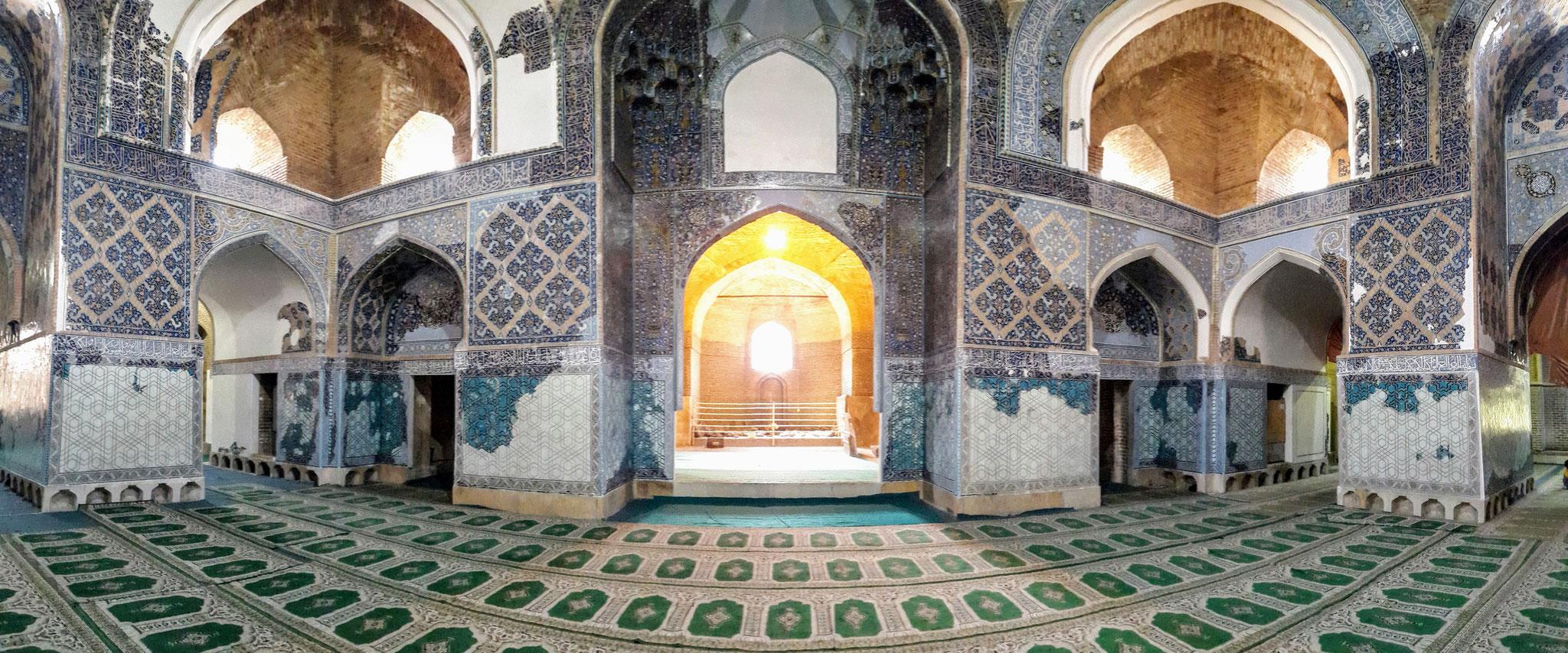 Blaue Moschee in Täbriz, Iran