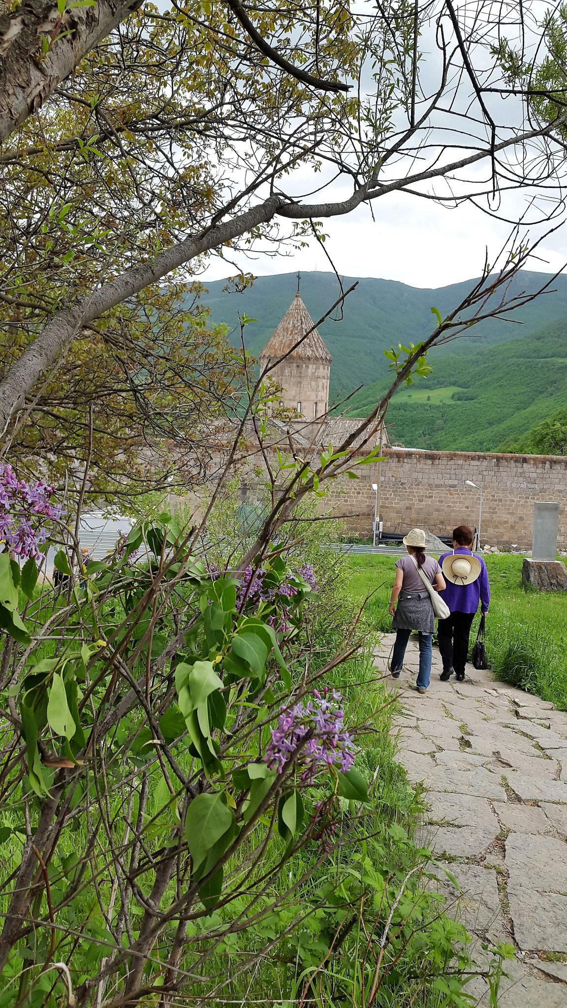 Zur Klosterbesichtigung