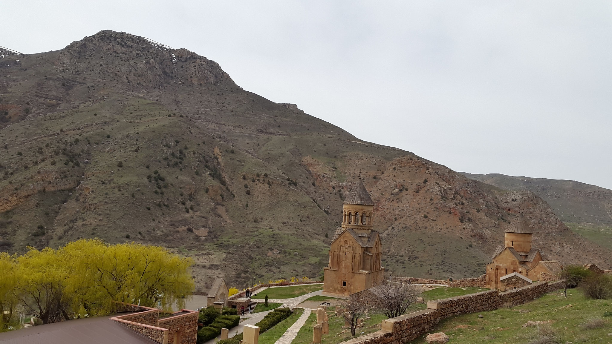 Noravank im April