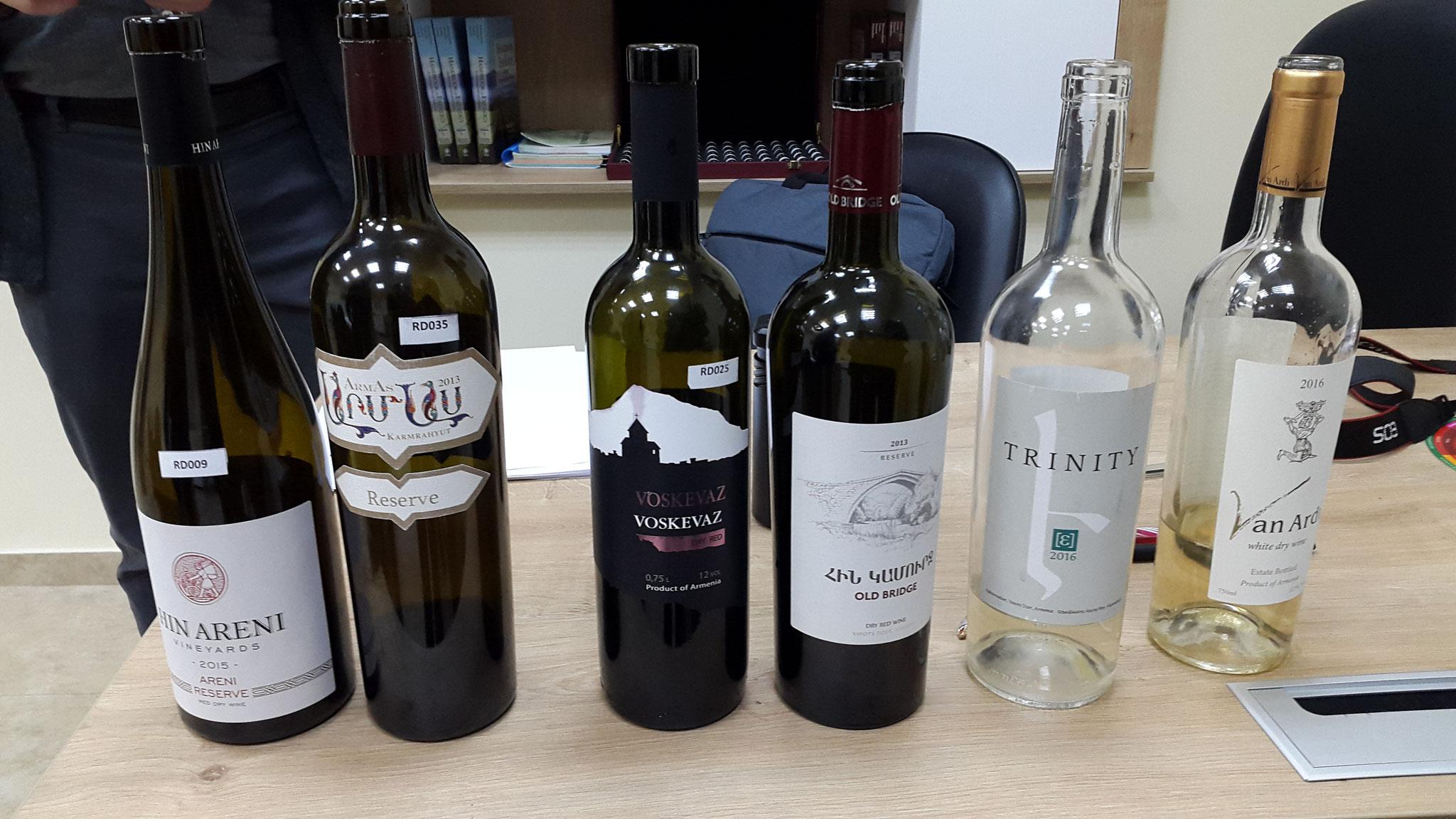 Abendliche Weiterbildung an der EVN Wine Academy Teil 1