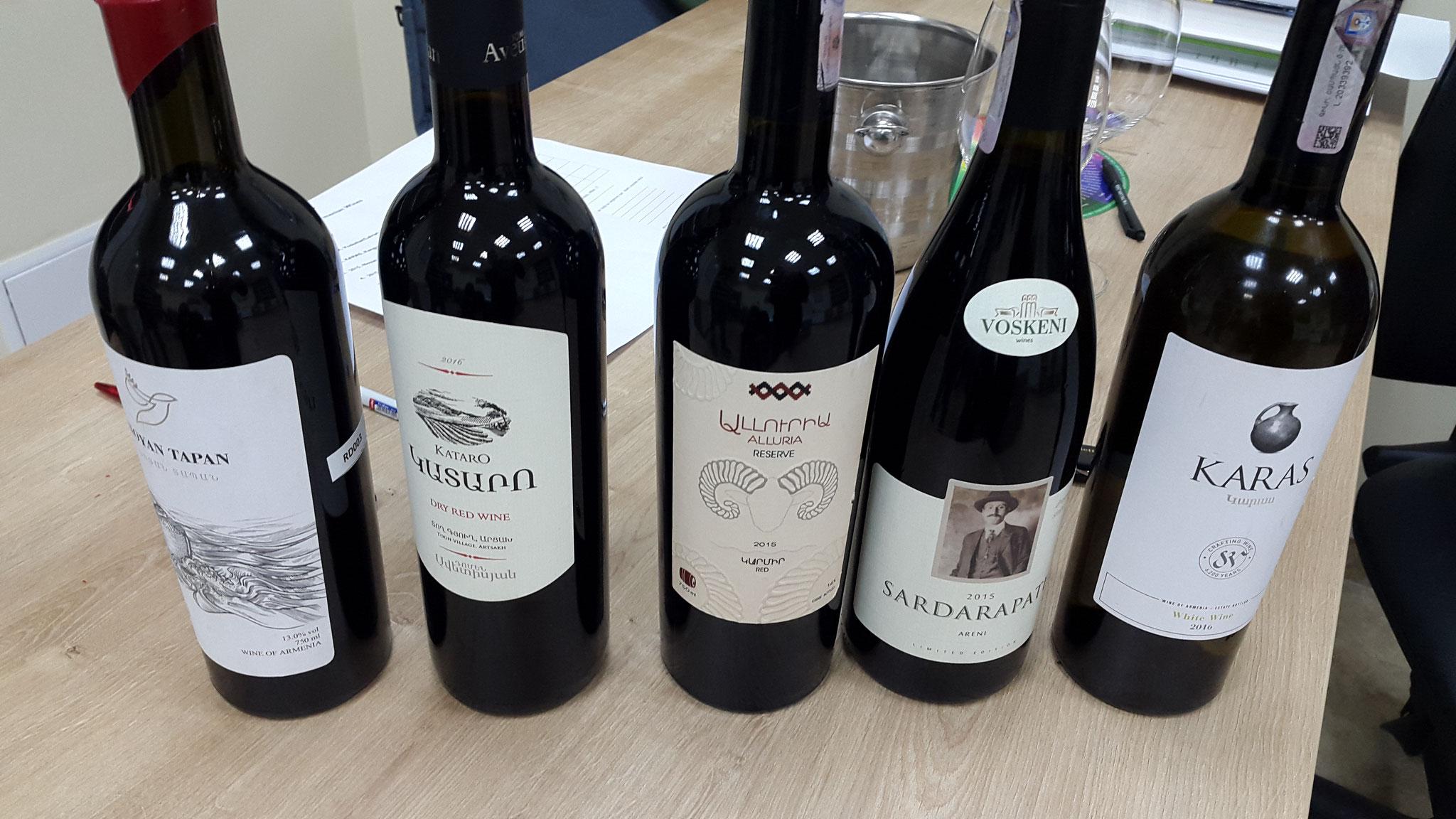 Abendliche Weiterbildung an der EVN Wine Academy Teil 2