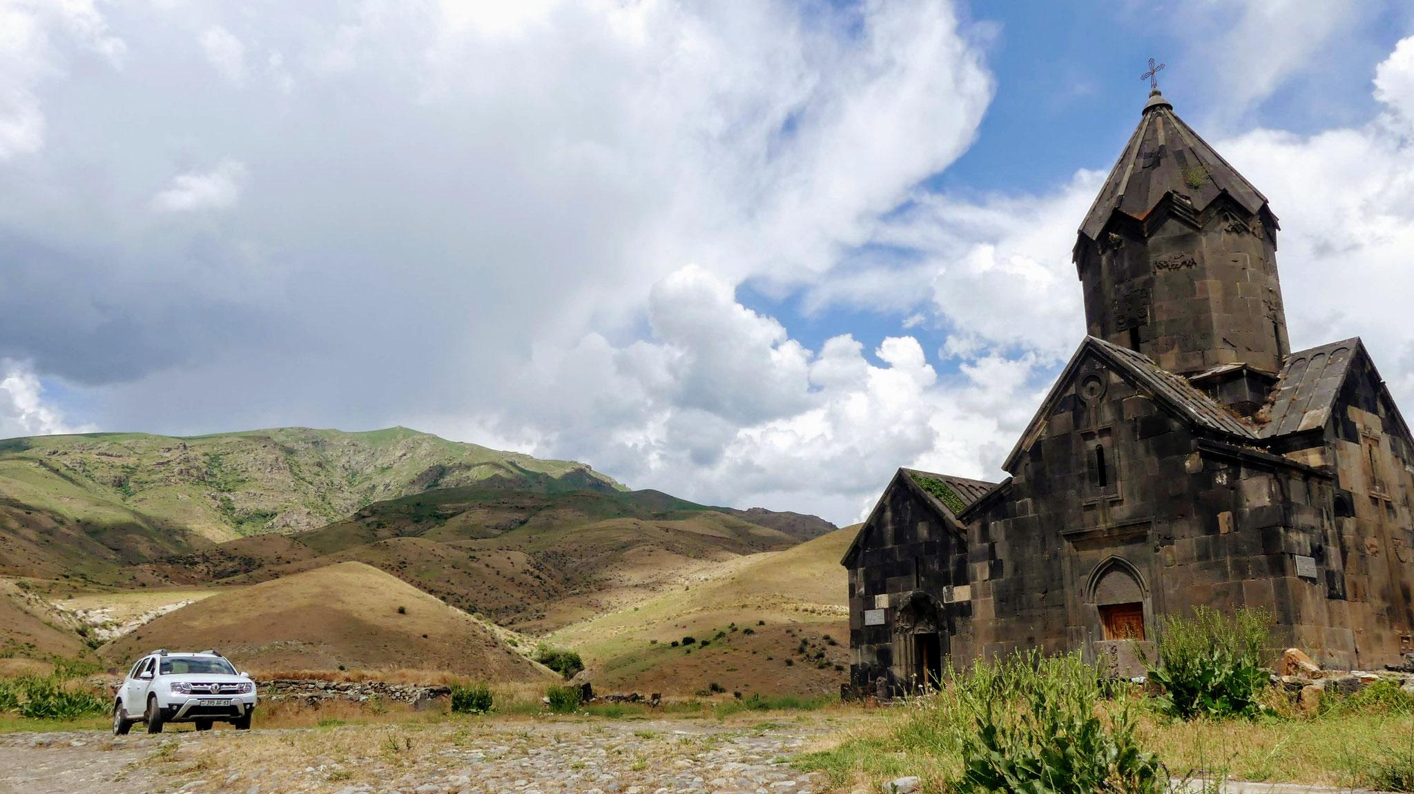 Doch noch Kultur: Kloster Tanahat