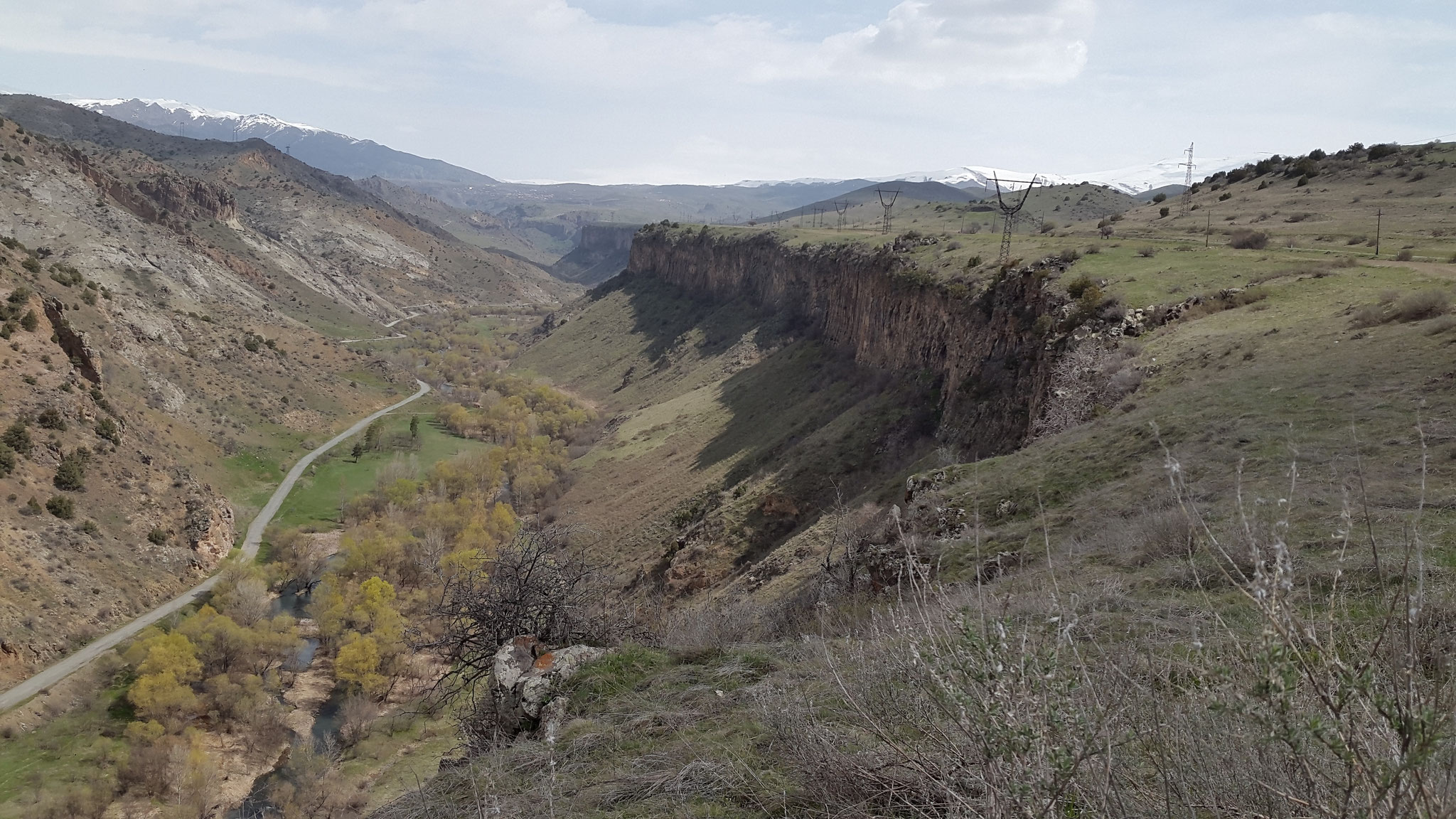 Das Arpa-Tal bei Jermuk