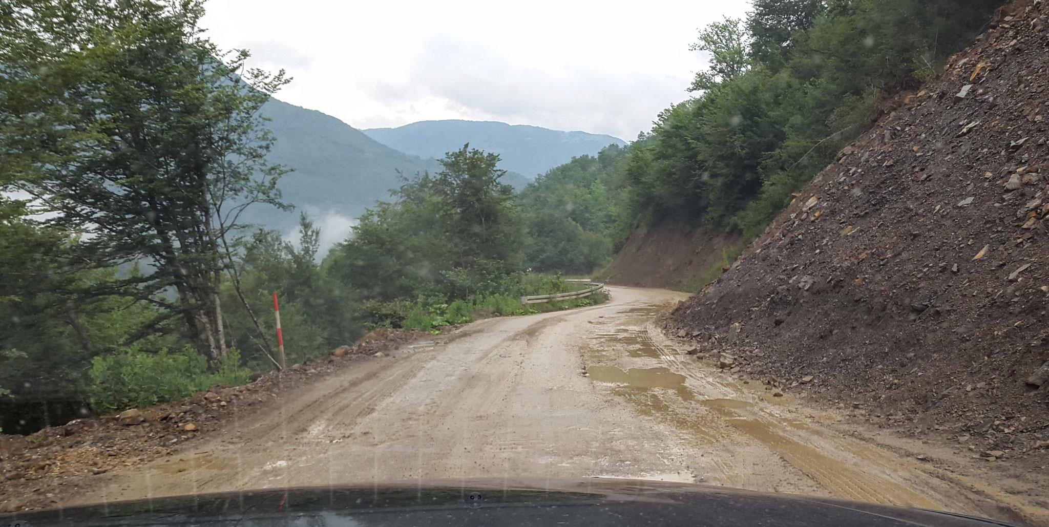 Ankunft in Bosnien-Herzegowina