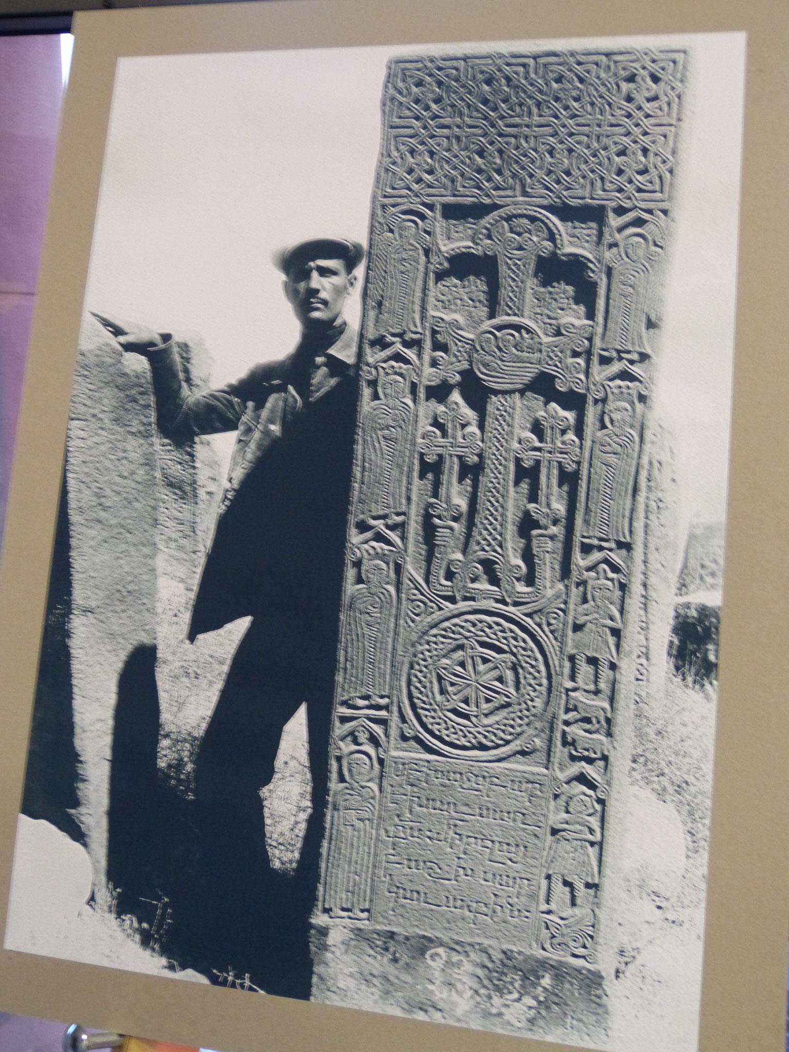 Arm. Friedhof bei Jolfa, Anfang des 20. Jhd.