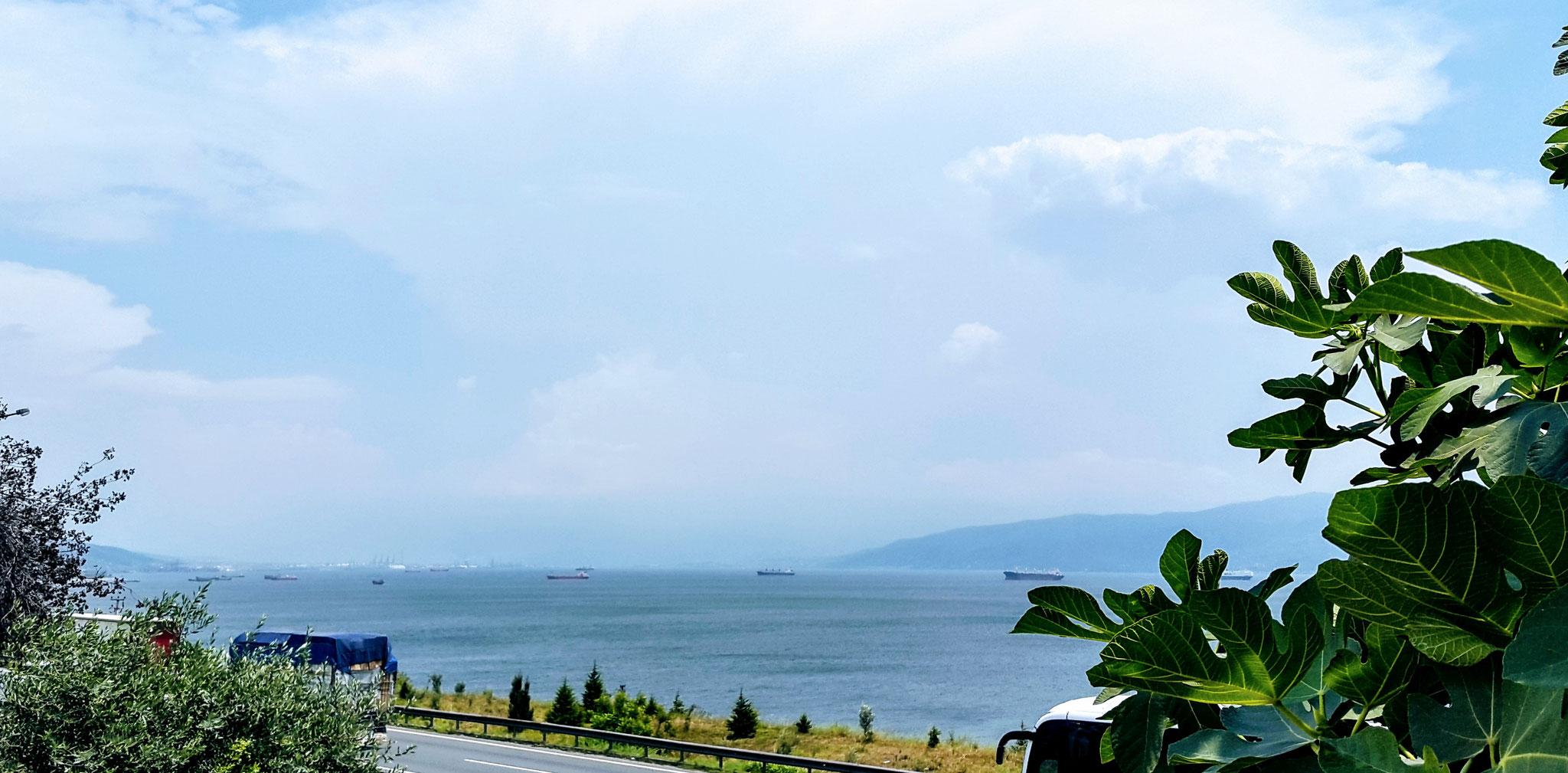 Am Marmara-Meer angekommen