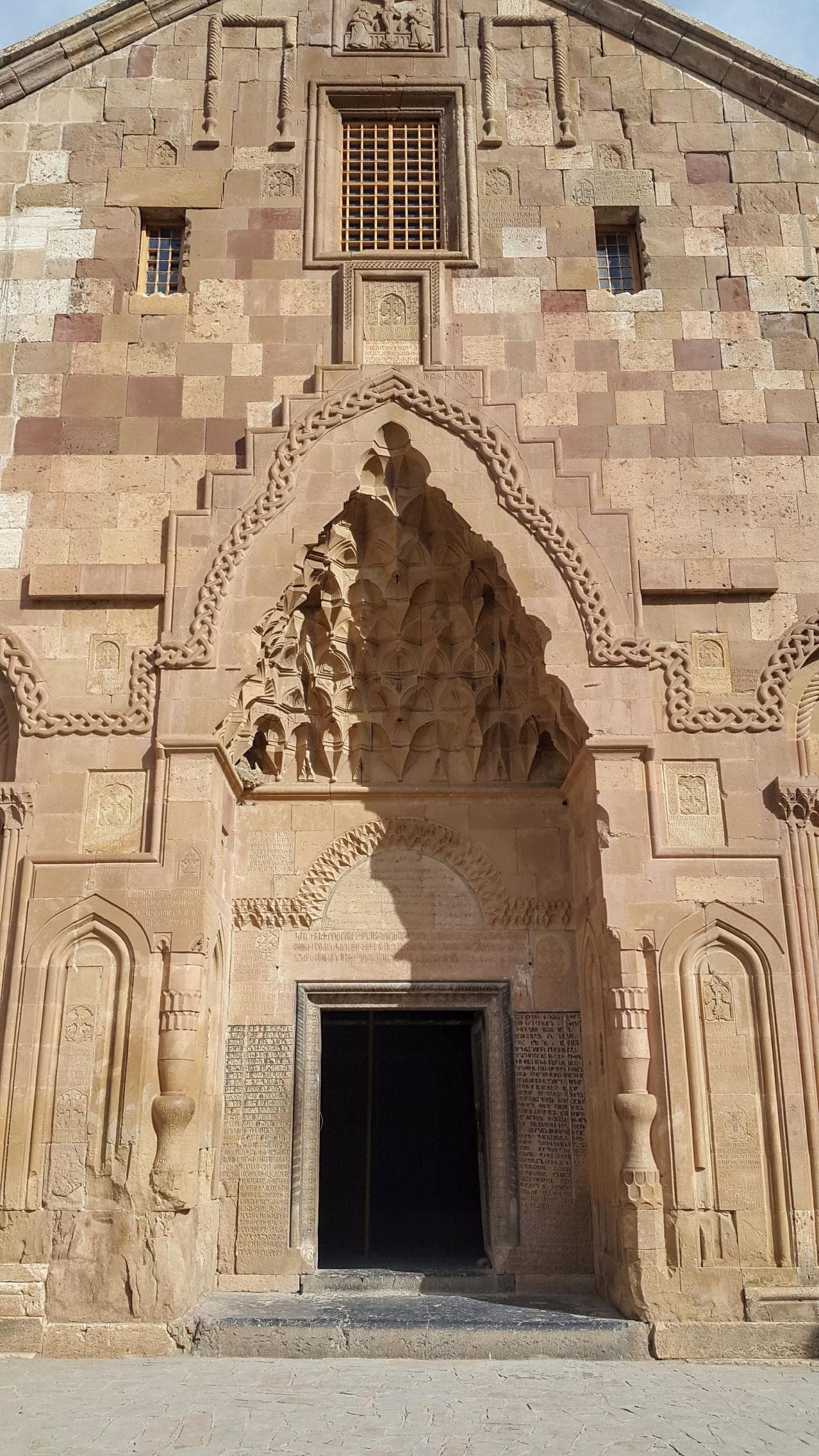 Kloster St. Stephanos, Hauptportal